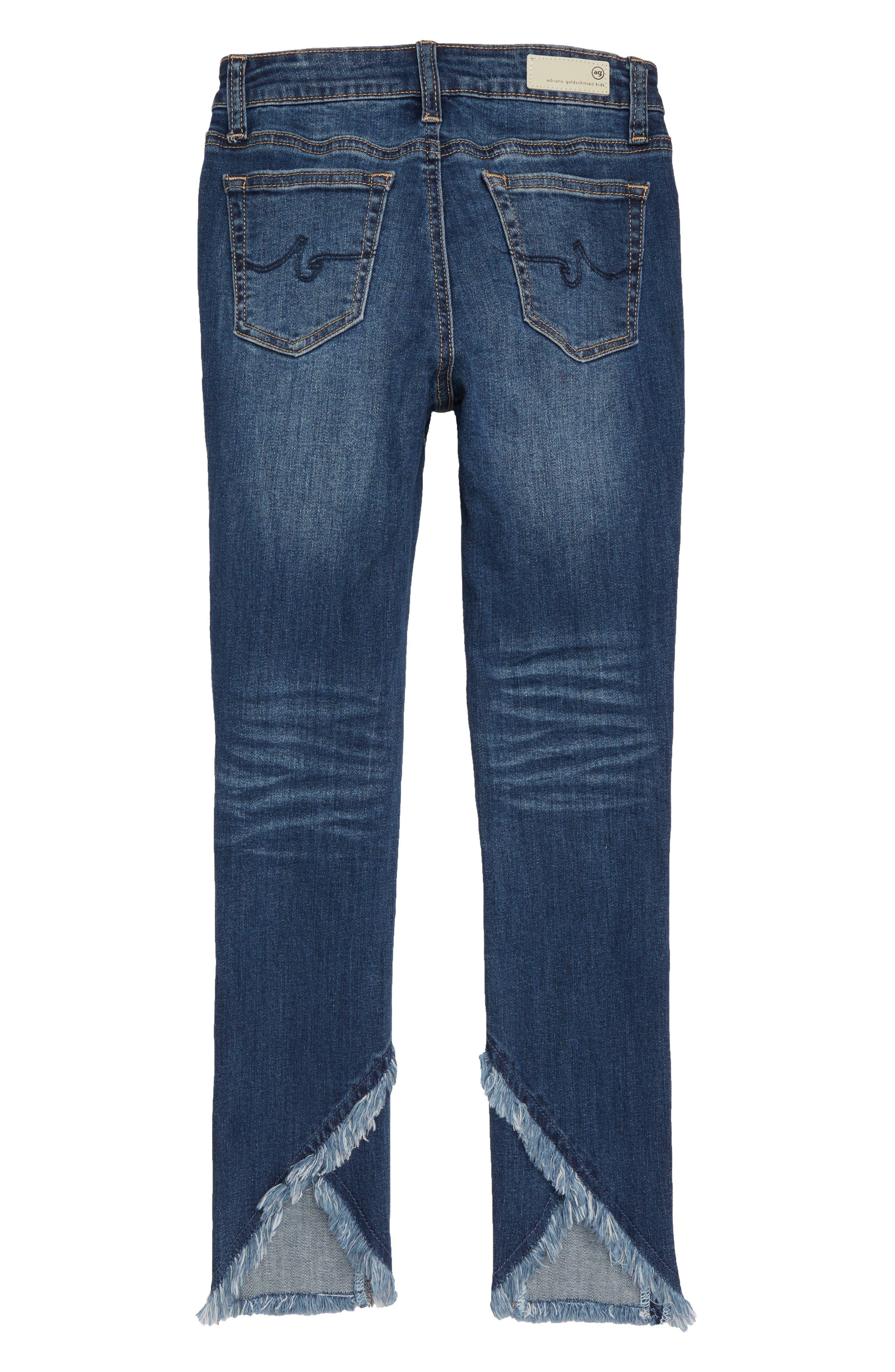 The Jessa Tulip Hem Ankle Jeans,                             Alternate thumbnail 2, color,                             VINTAGE SKY
