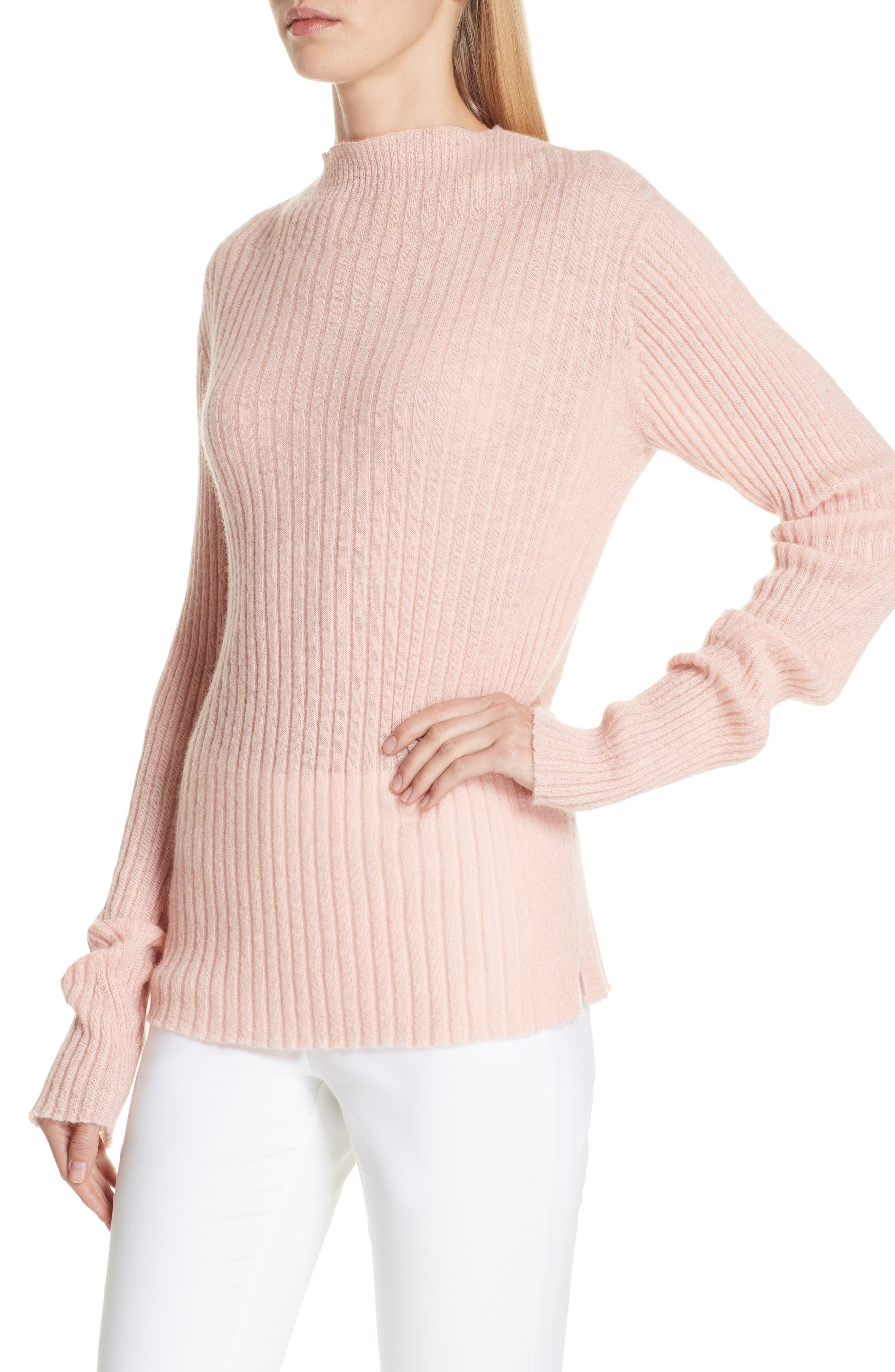 Donna Mohair Blend Sweater,                             Alternate thumbnail 4, color,                             950