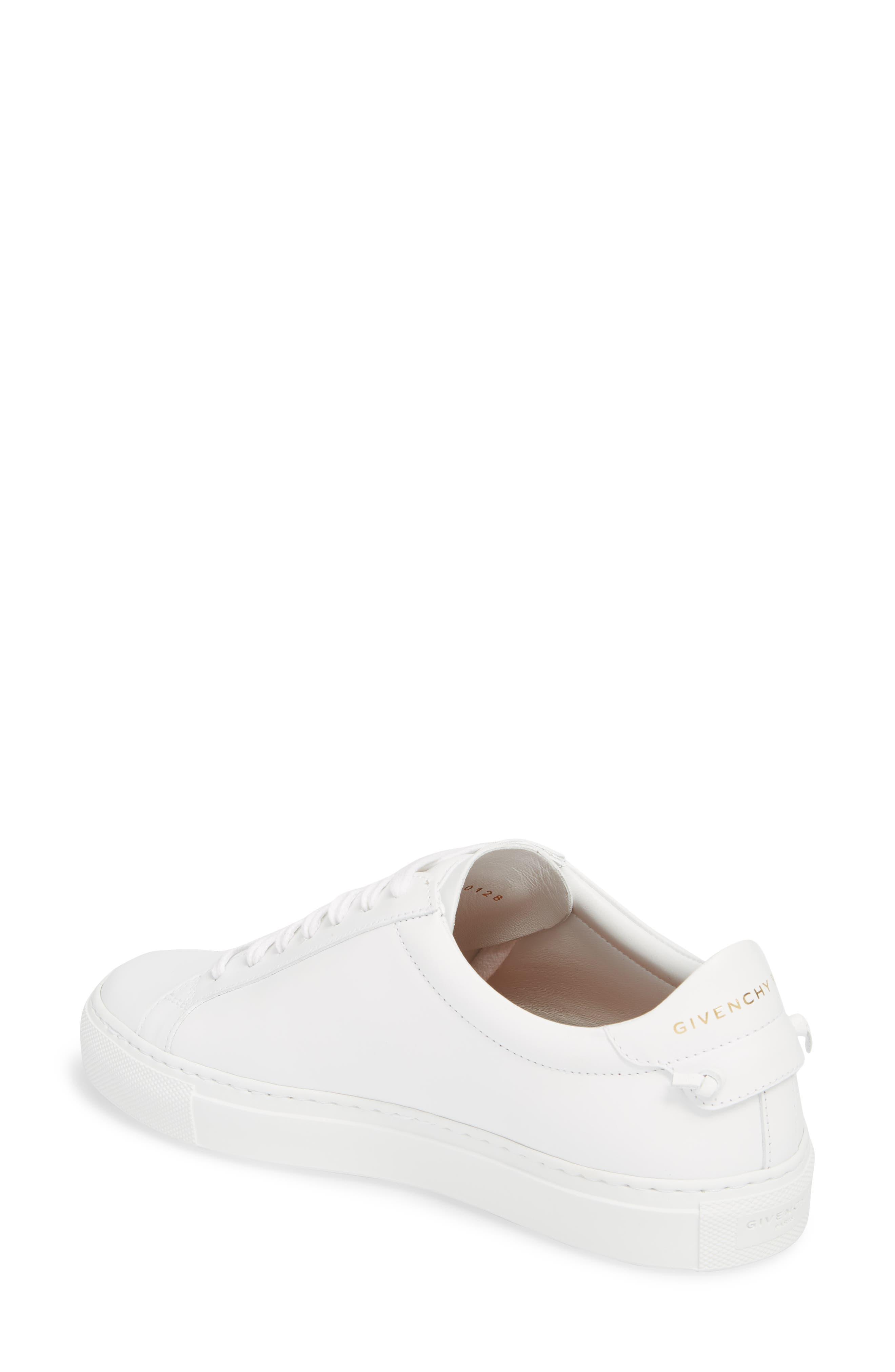 Low Top Sneaker,                             Alternate thumbnail 2, color,                             OPTIC WHITE