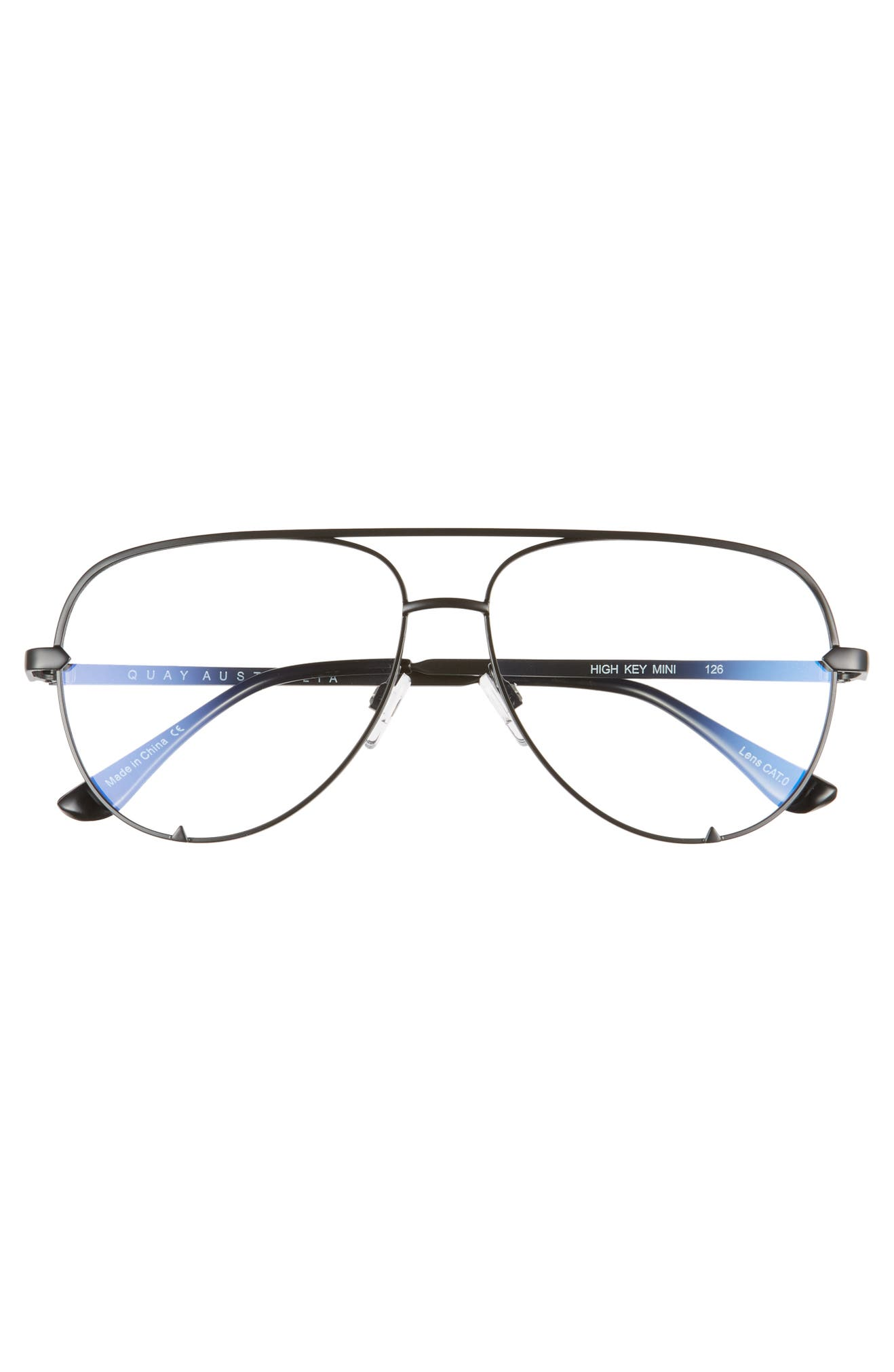 048a7888e58 Quay Australia High Key 58mm Blue Light Blocking Glasses