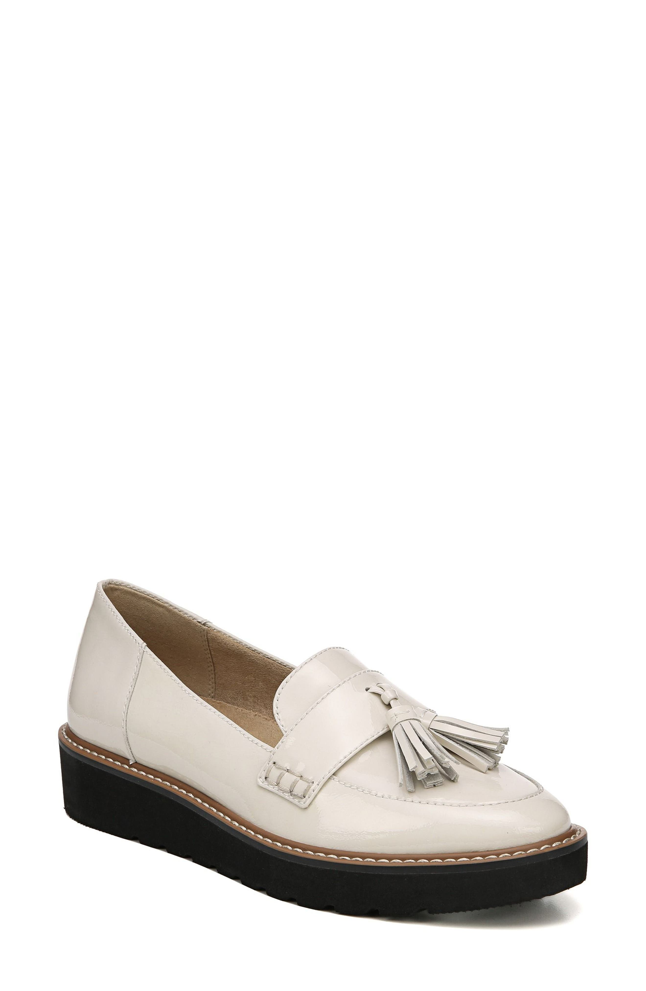 August Loafer,                             Main thumbnail 1, color,                             ALABASTER LEATHER