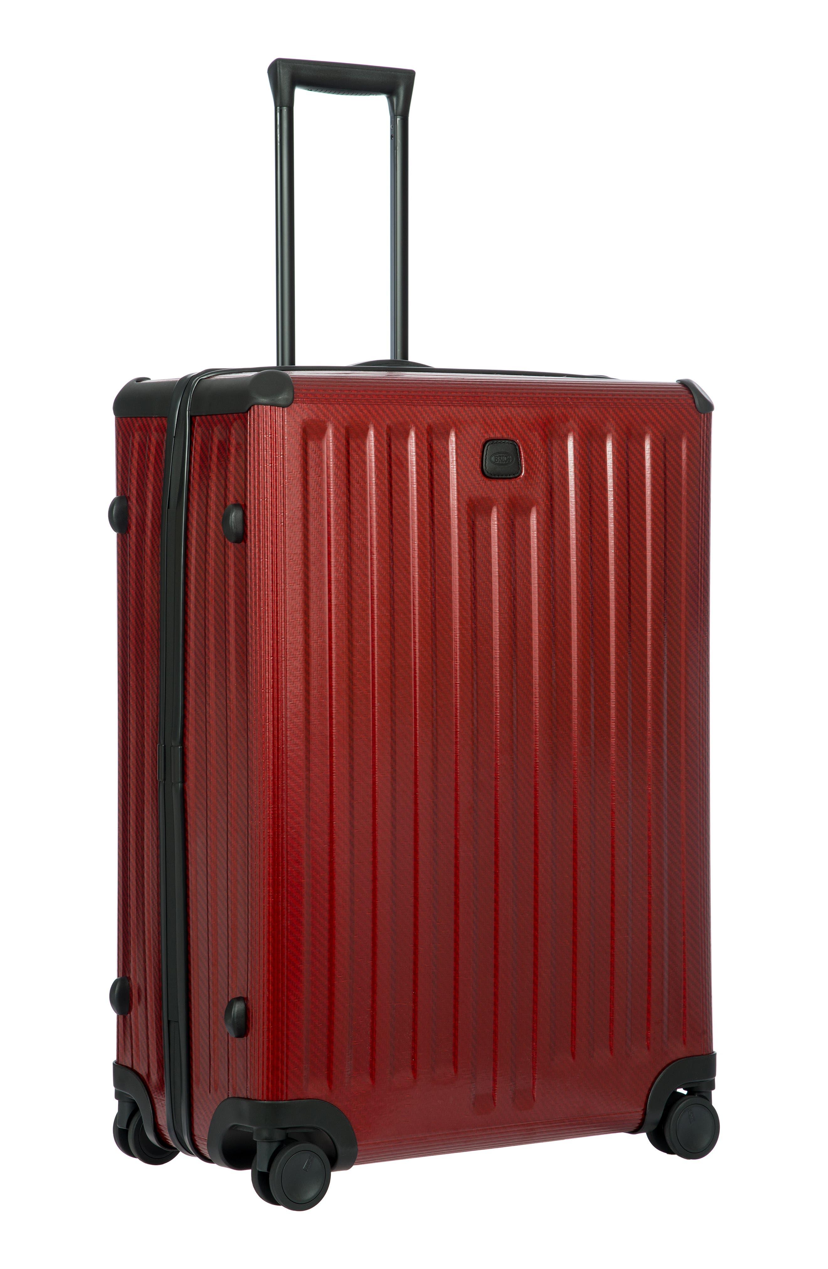 Venezia 30-Inch Hardshell Spinner Suitcase,                             Alternate thumbnail 10, color,                             RUBY