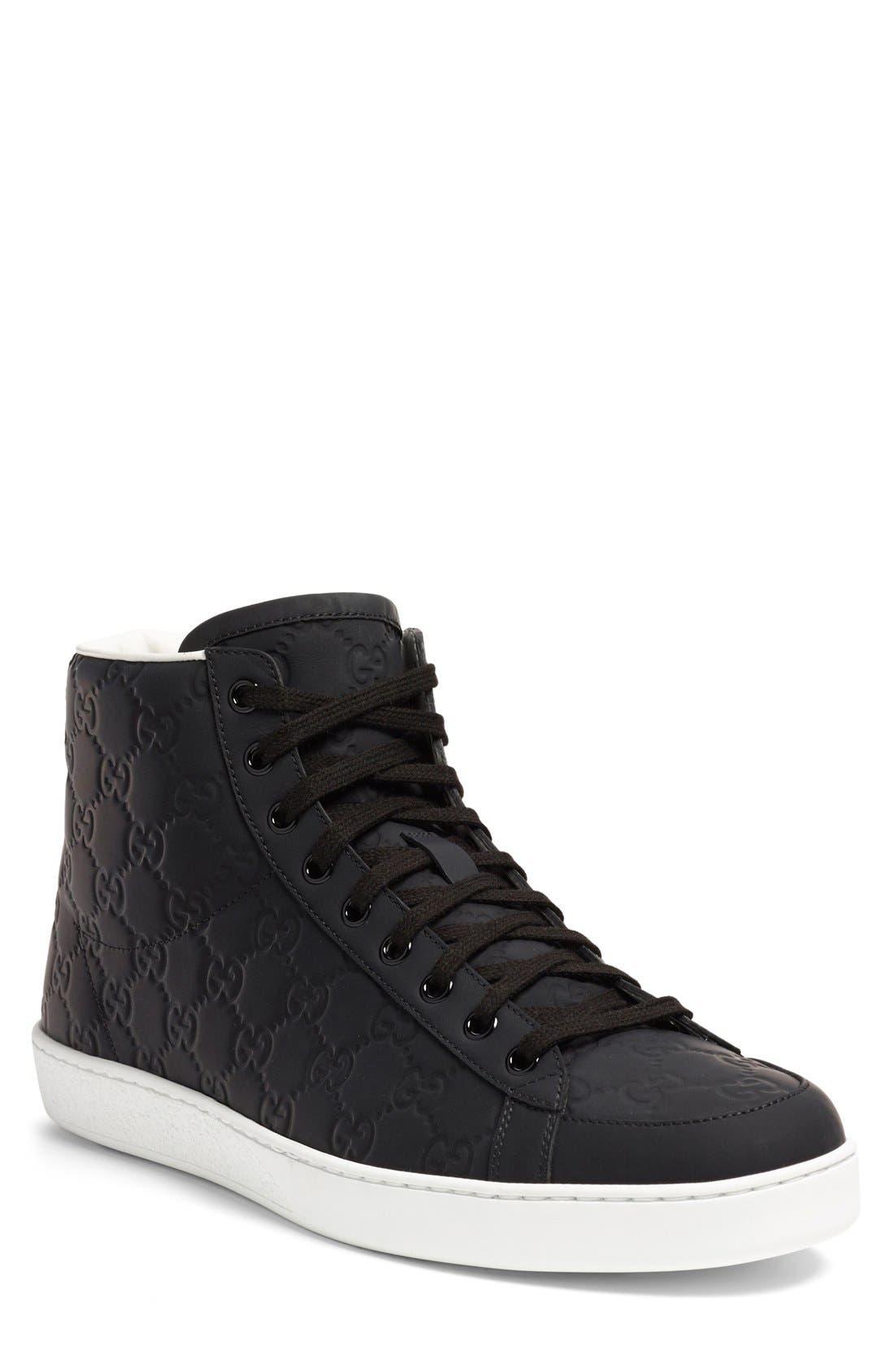'Brooklyn' High-Top Sneaker,                             Main thumbnail 1, color,                             001