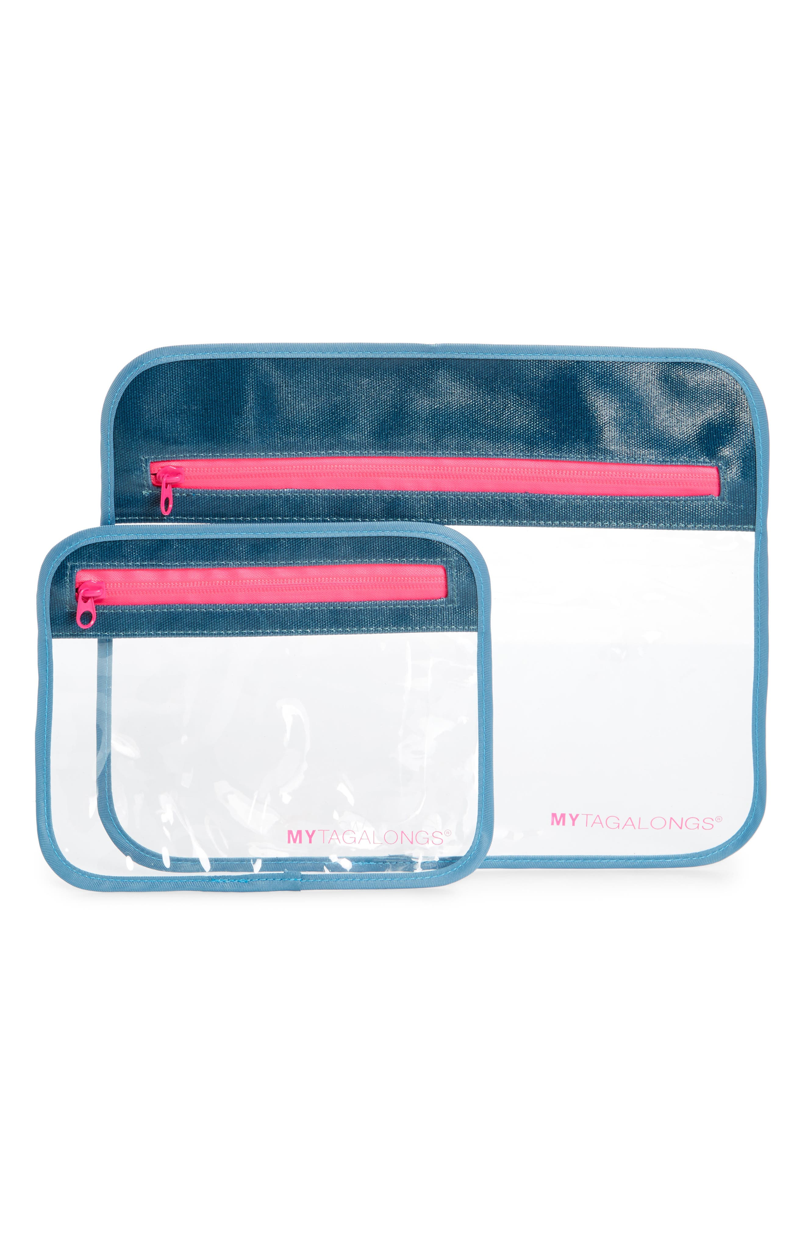 2-Piece Splash Proof Tech Pouch Set,                             Main thumbnail 1, color,