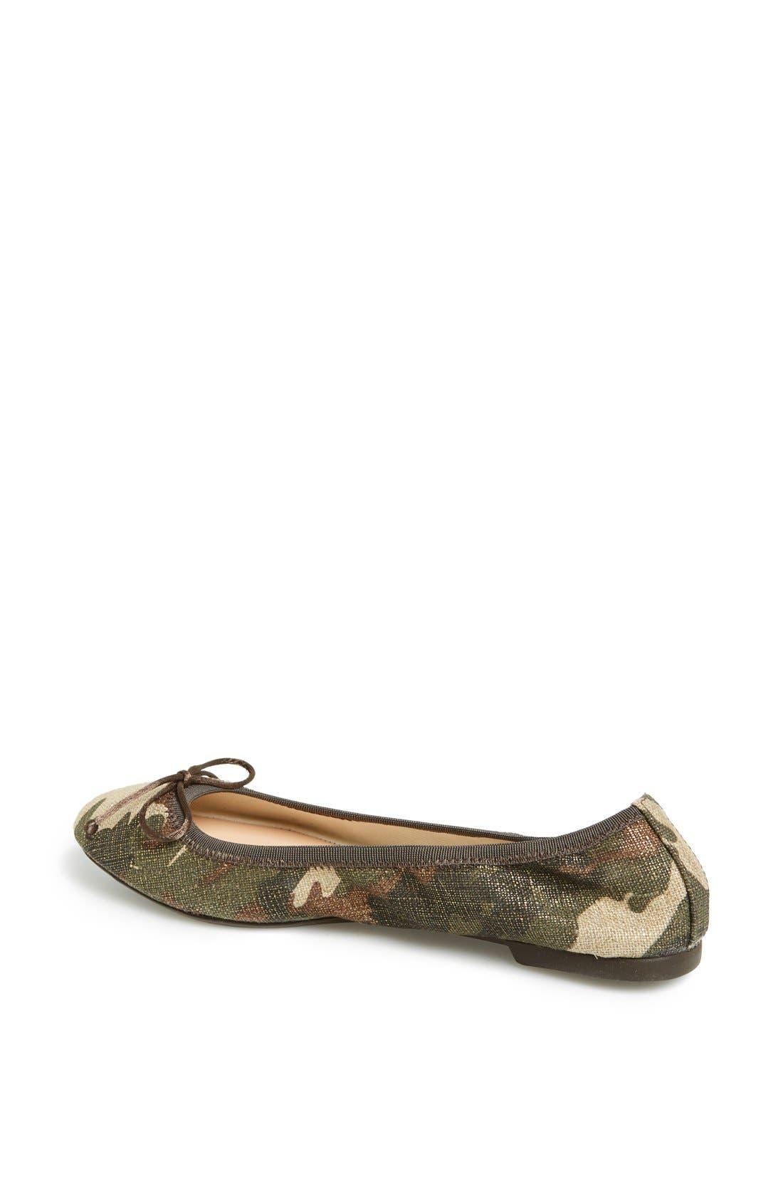 Camouflage Ballet Flat,                             Alternate thumbnail 2, color,                             340