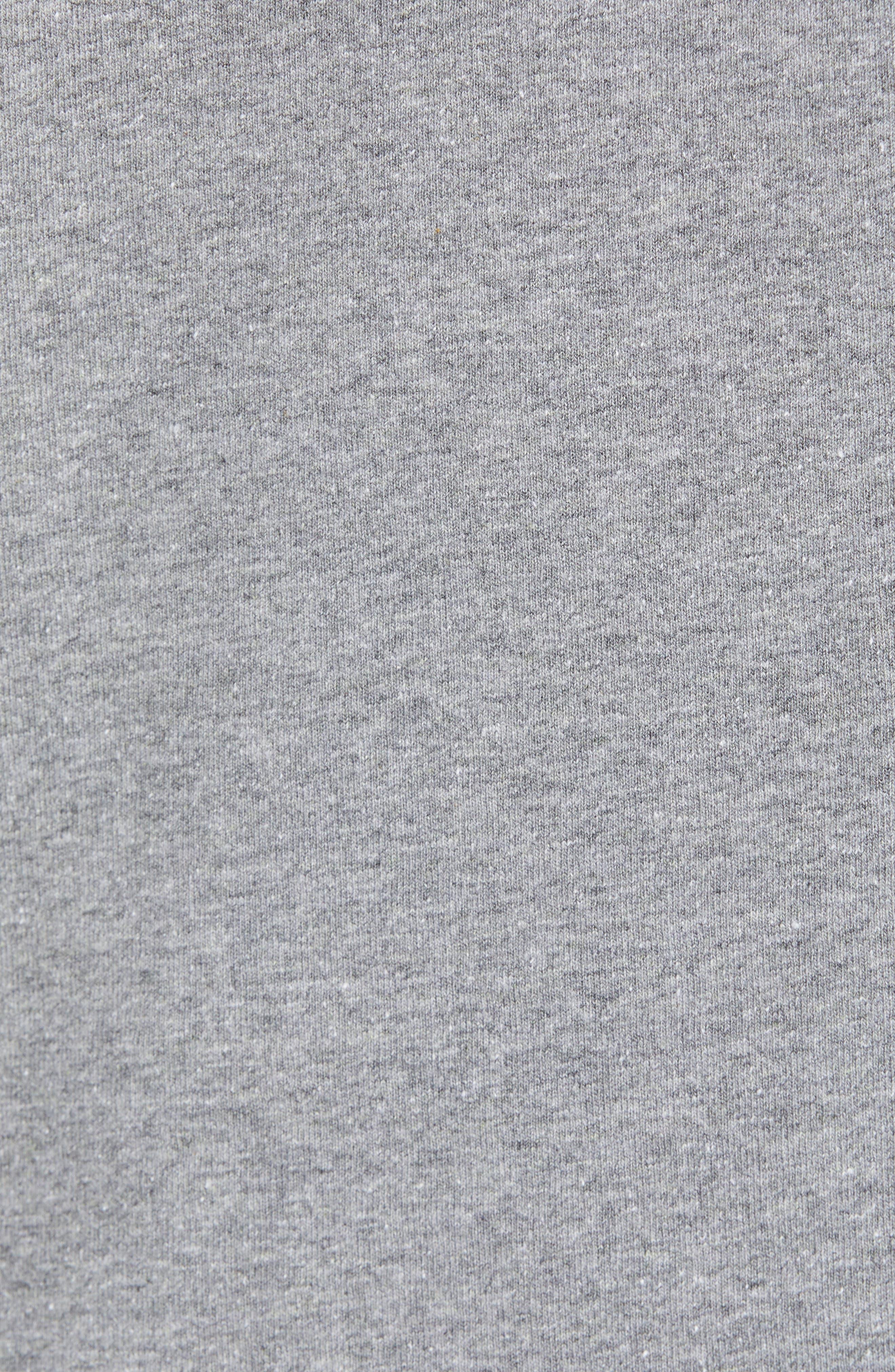 Fitz Roy Scope Long Sleeve Responsibili-Tee T-Shirt,                             Alternate thumbnail 5, color,                             GRAVEL HEATHER