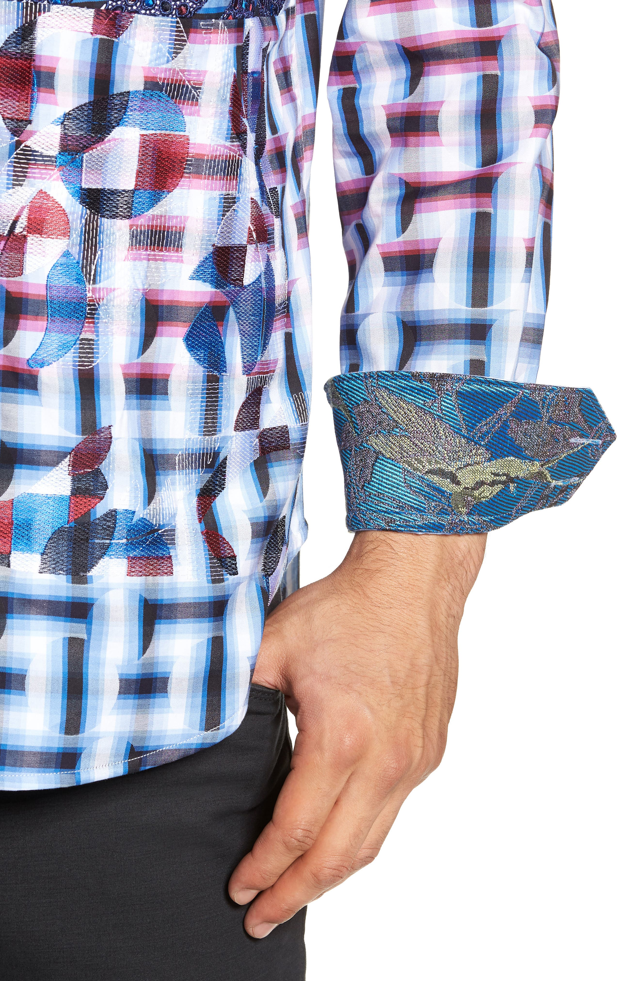 The Steejo Limited Edition Classic Fit Sport Shirt,                             Alternate thumbnail 2, color,                             MULTI