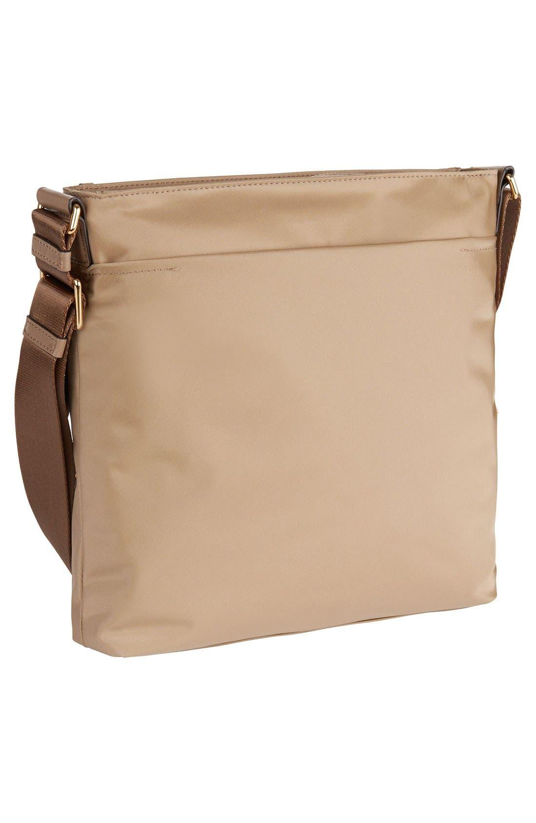 Voyageur - Capri Nylon Crossbody Bag,                             Alternate thumbnail 4, color,                             KHAKI