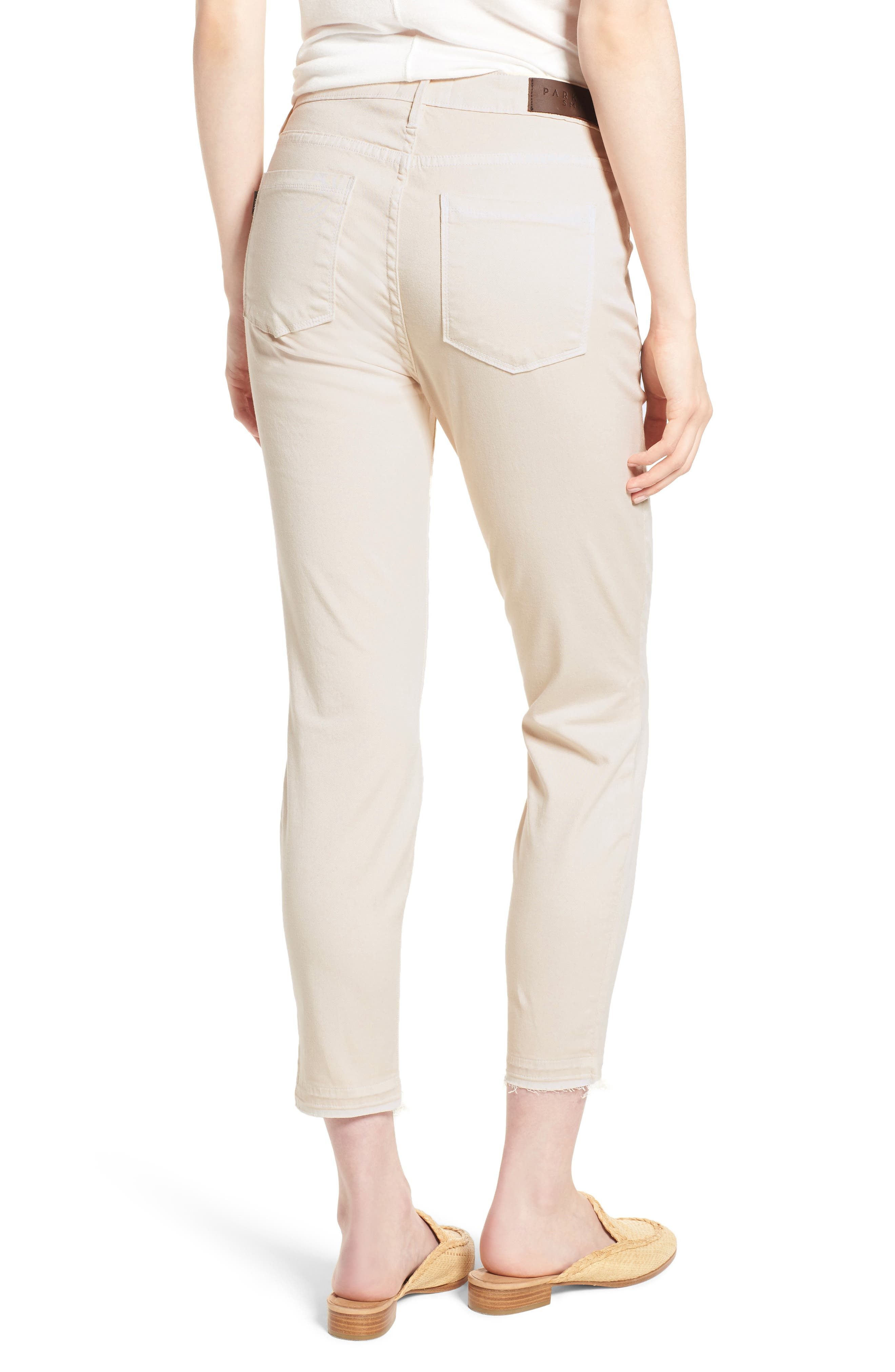 Ava Crop Skinny Jeans,                             Alternate thumbnail 2, color,                             906