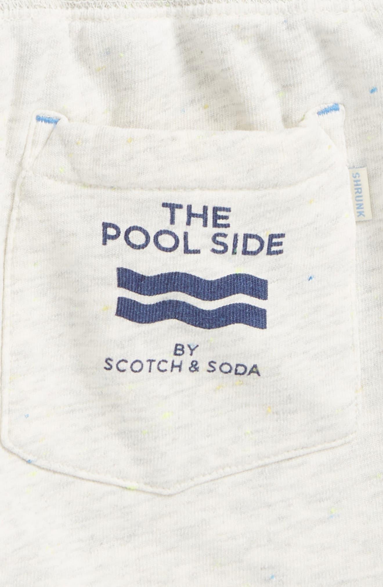 Pool Side Knit Shorts,                             Alternate thumbnail 4, color,                             900