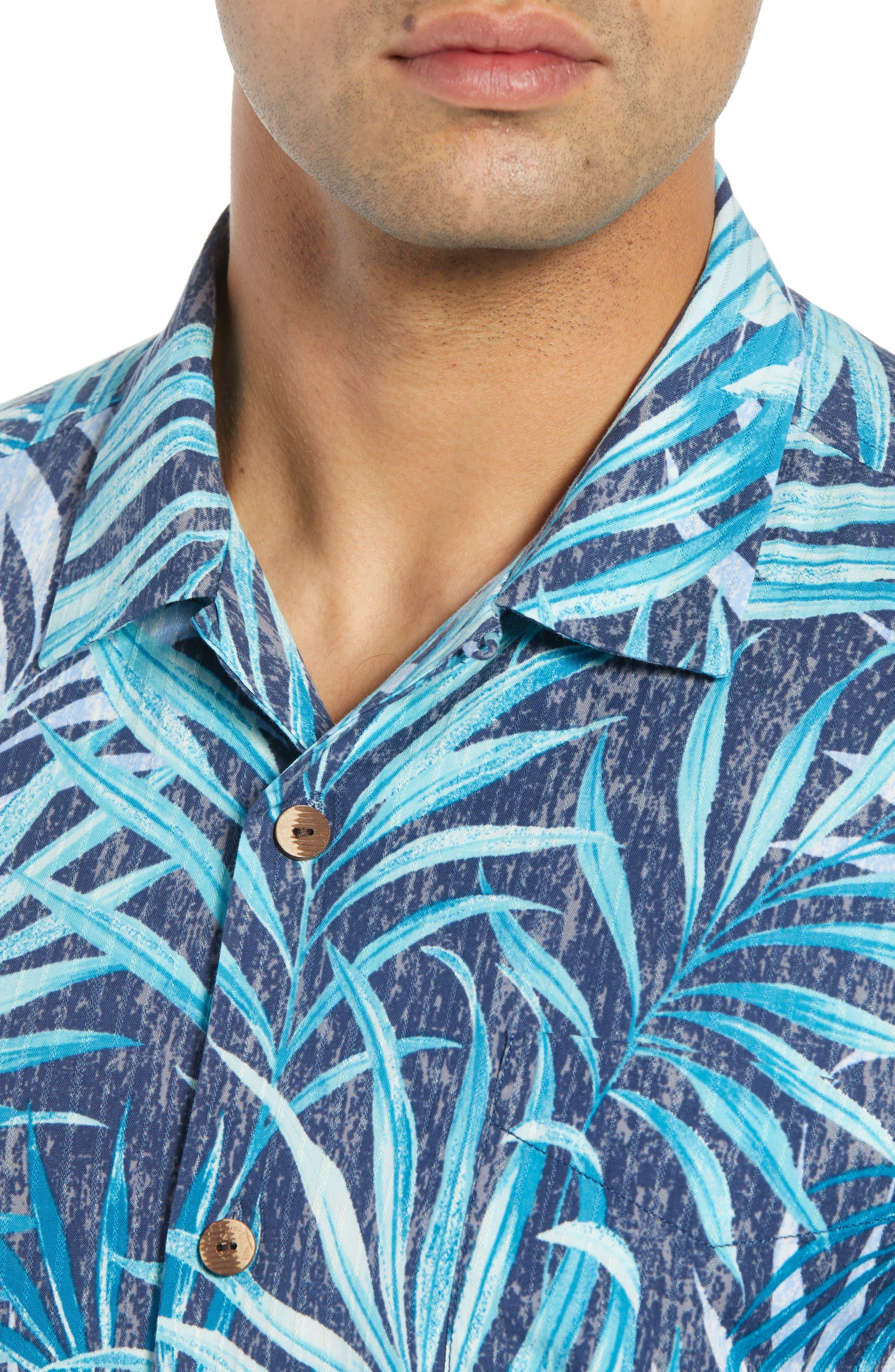 Teatro Palms Sport Shirt,                             Alternate thumbnail 4, color,                             SHIPWRECK