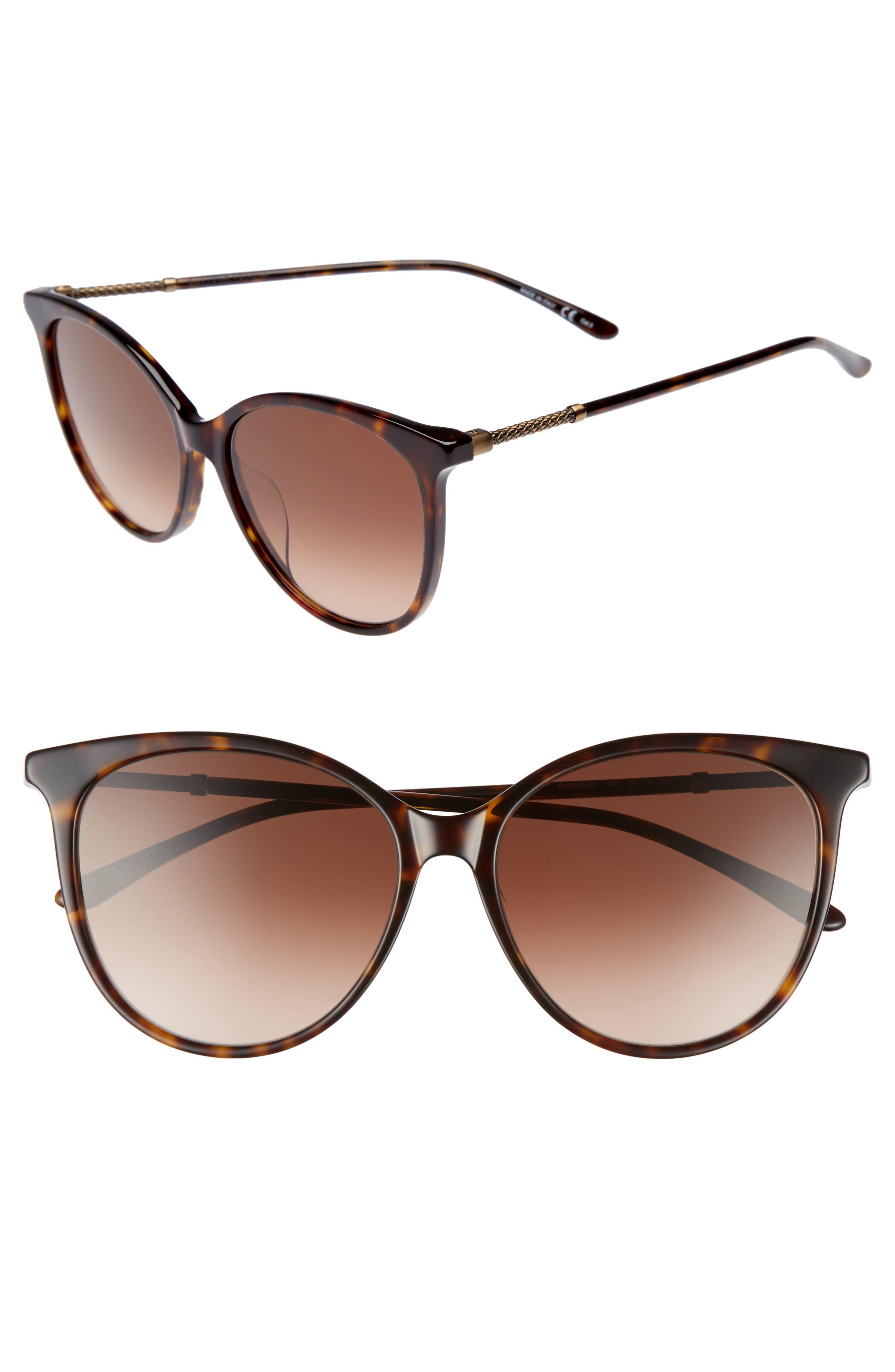 57mm Cat Eye Sunglasses,                             Main thumbnail 2, color,