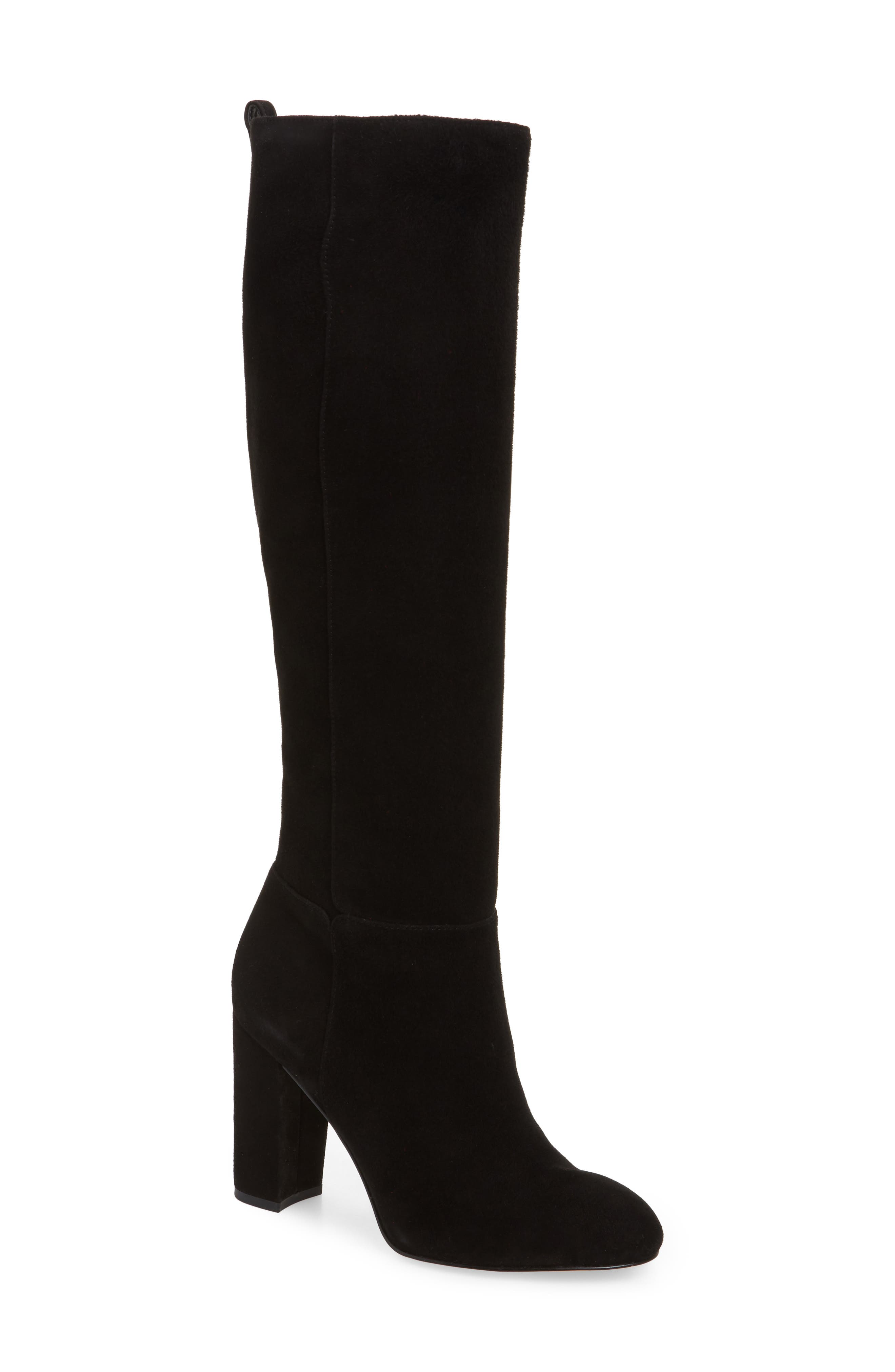 Sam Edelman Caprice Knee-High Boot, Black