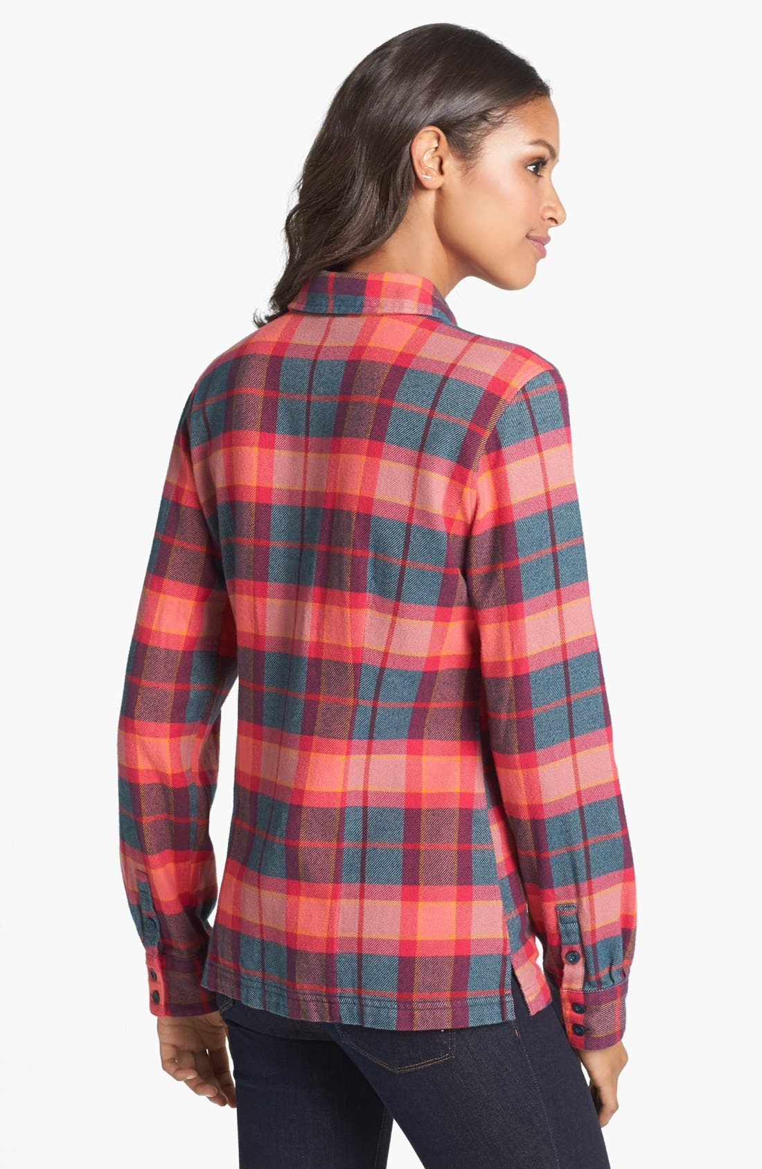 'Fjord' Flannel Shirt,                             Alternate thumbnail 34, color,