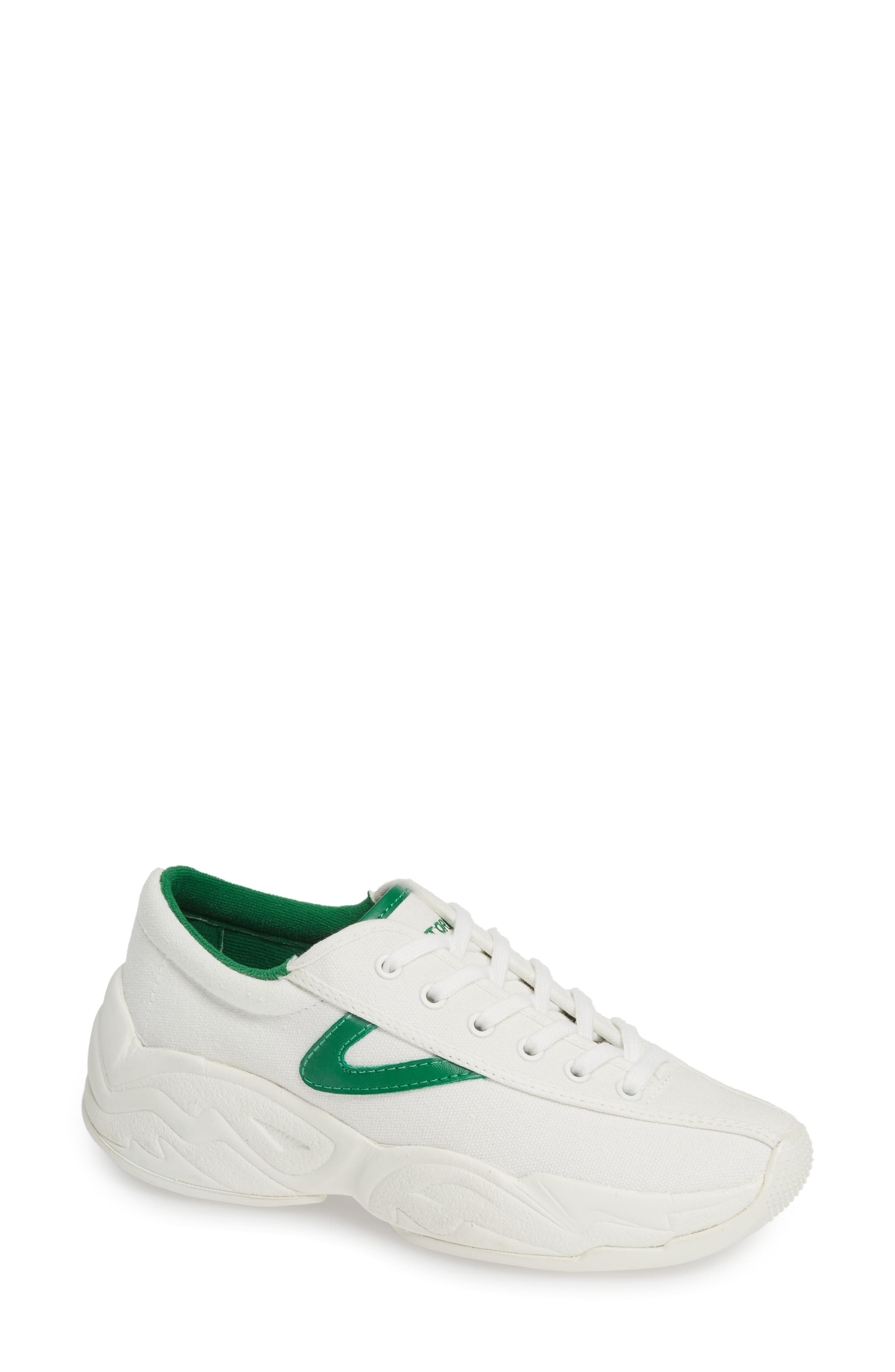 Nylite Fly Chunky Sneakers in Vintage White/Green