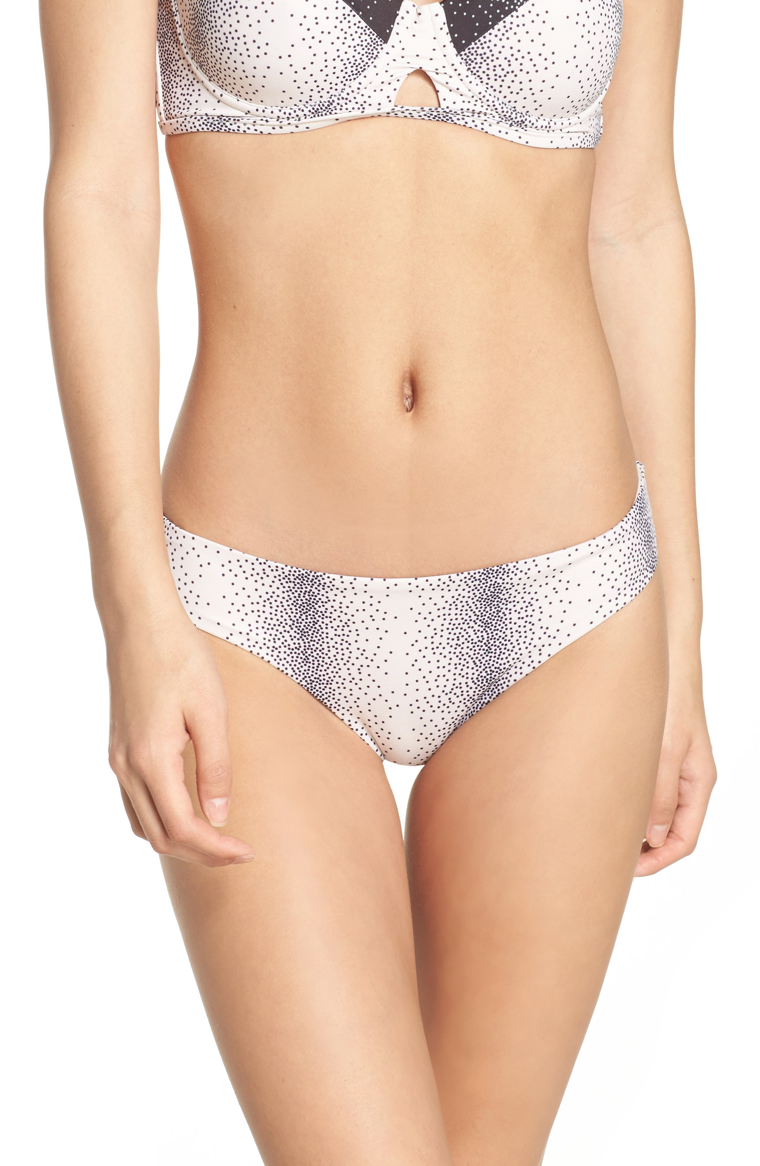 Ali Ribbed Bikini Bottoms,                         Main,                         color, 020