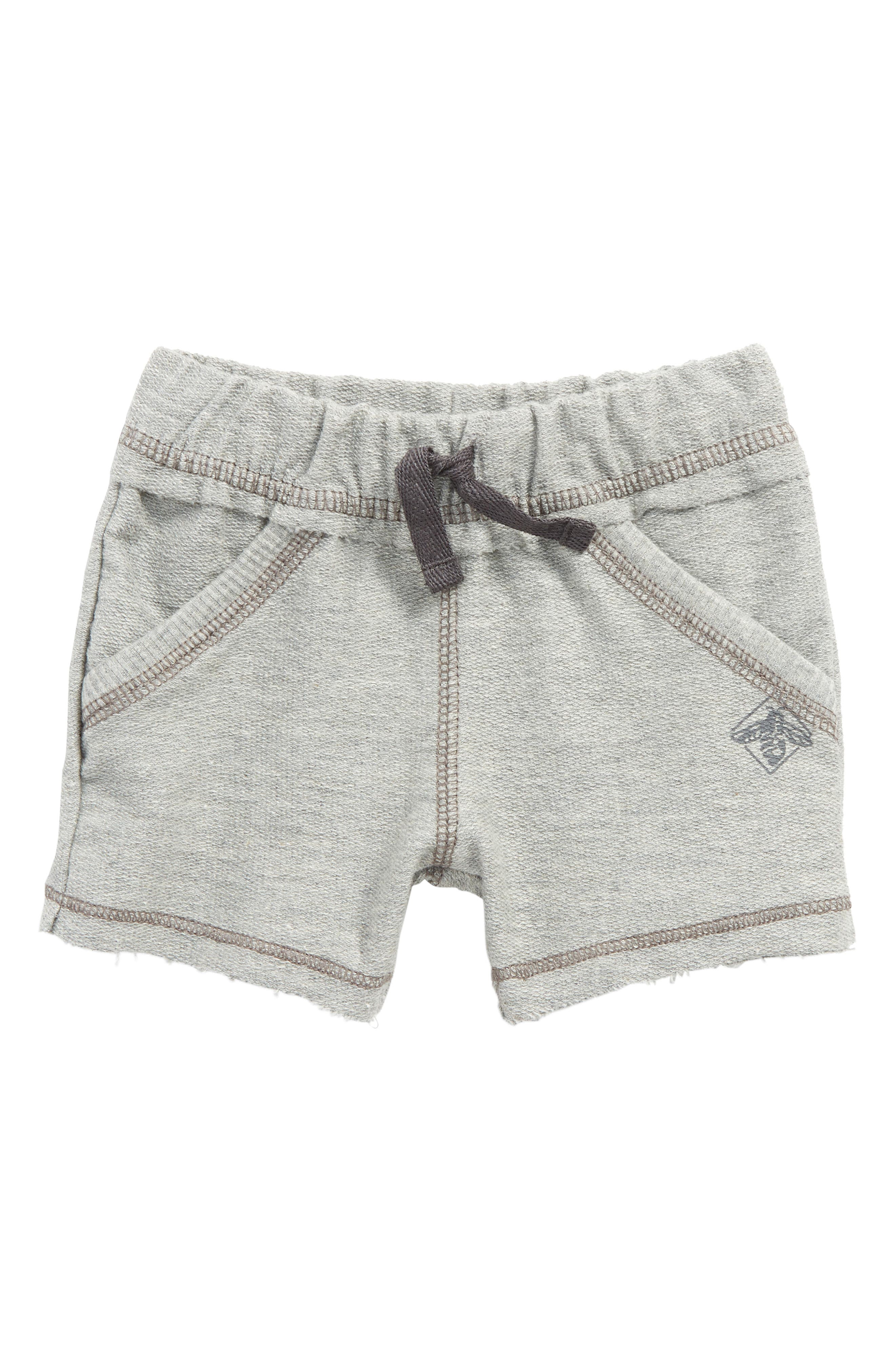 Organic Cotton French Terry Shorts,                             Main thumbnail 1, color,                             050