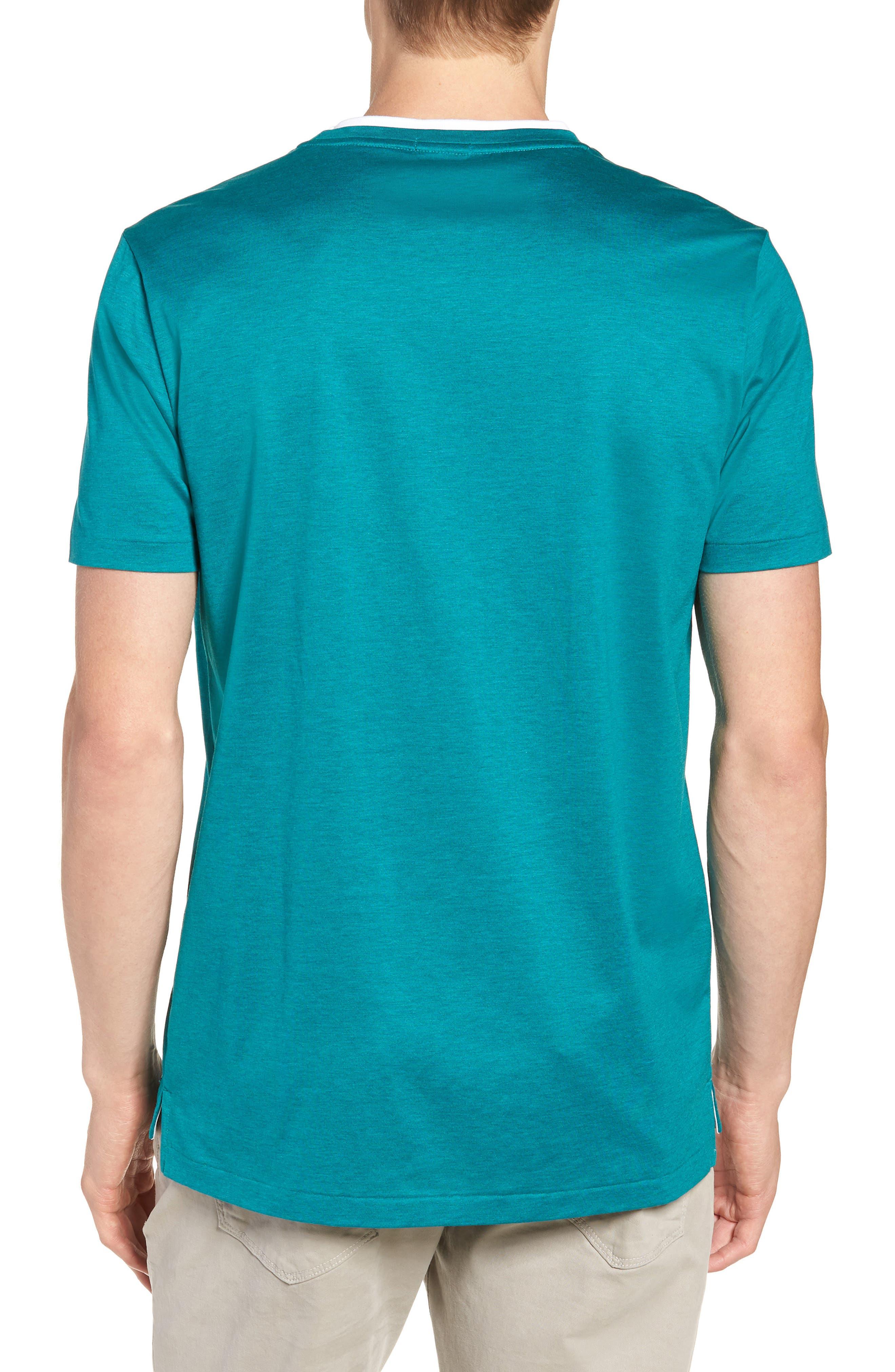Taber Regular Fit T-Shirt,                             Alternate thumbnail 2, color,                             GREEN