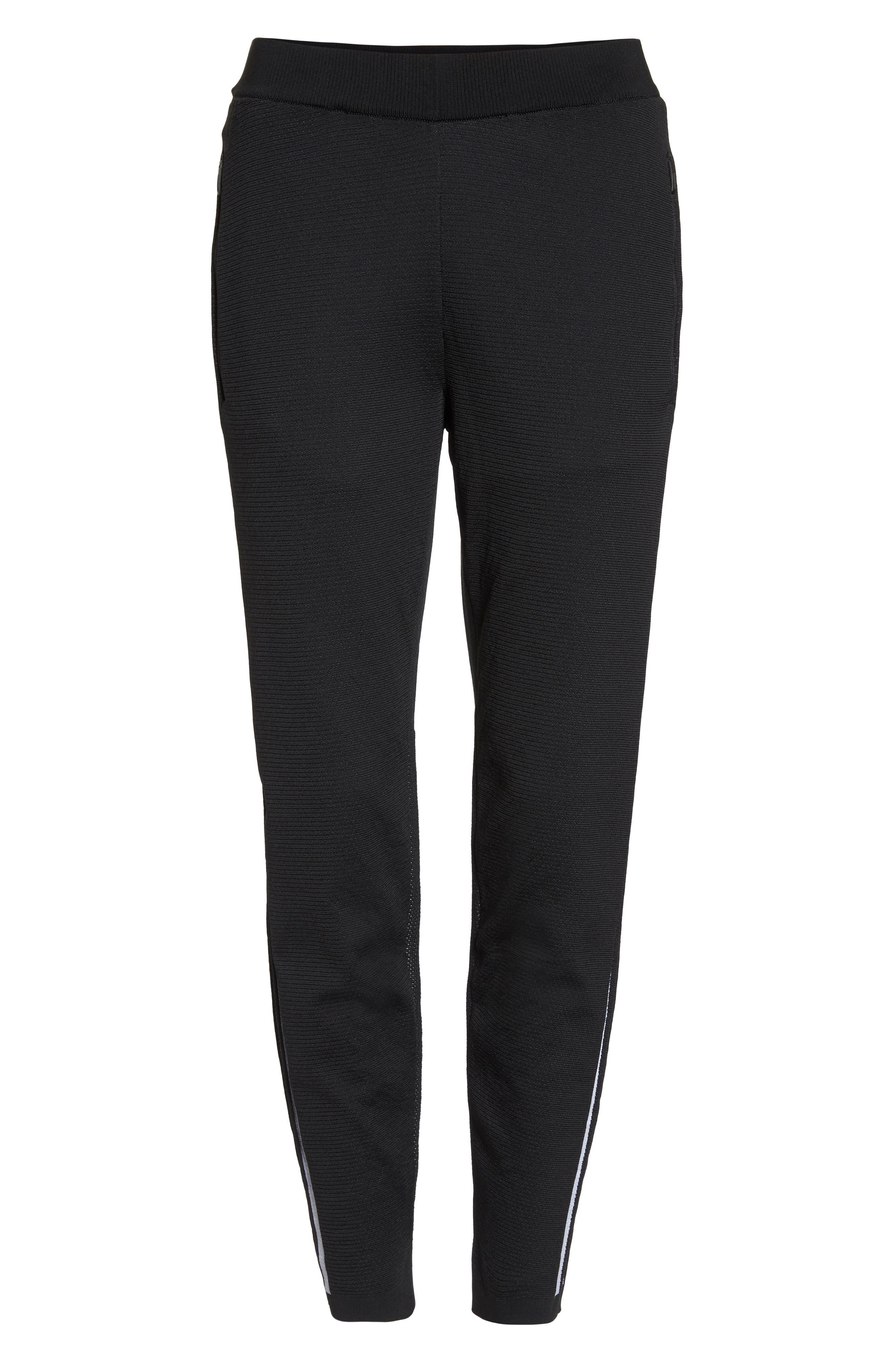 ID Striker Knit Pants,                             Alternate thumbnail 7, color,                             BLACK