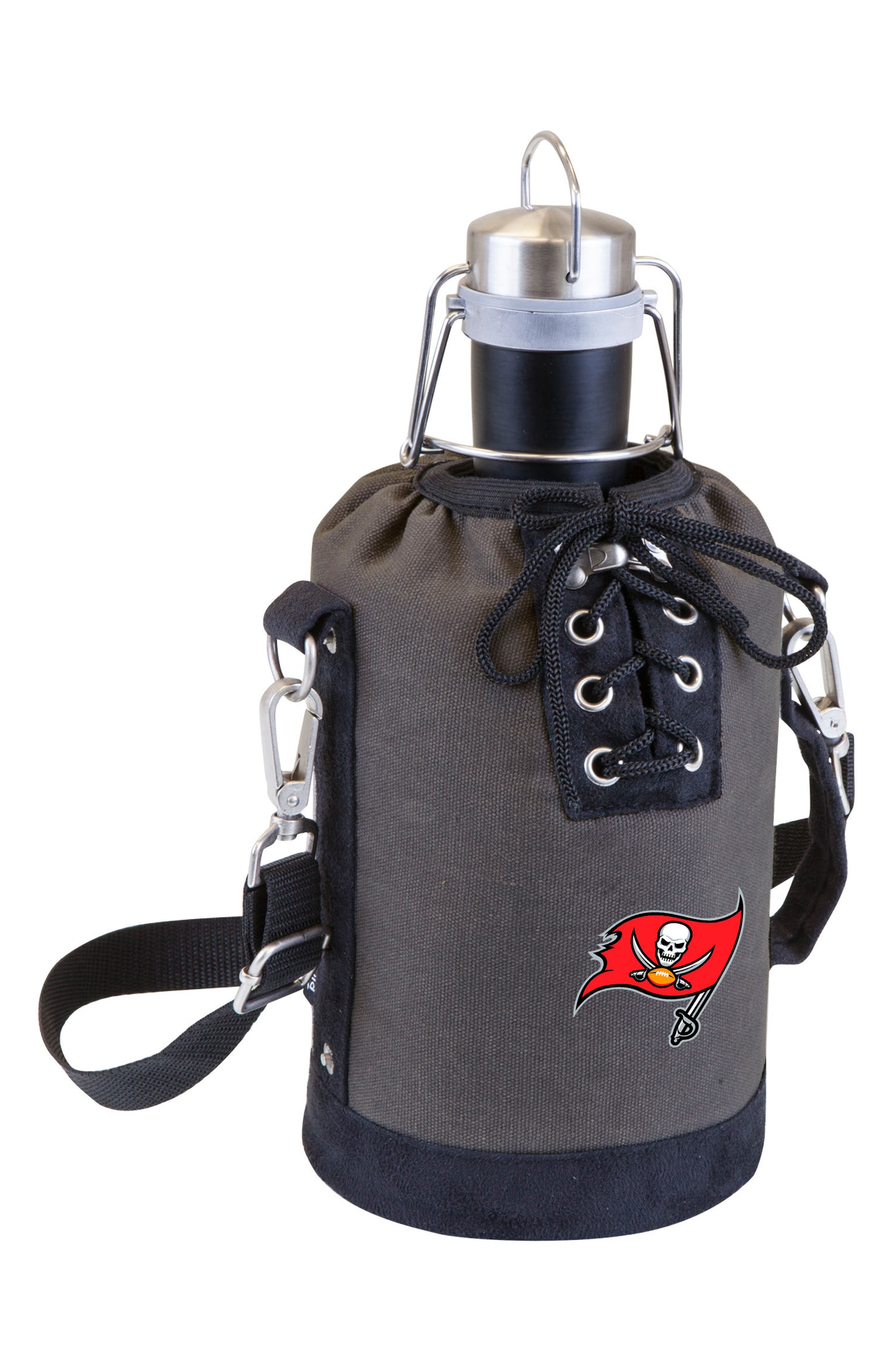 NFL Team Logo Tote & Stainless Steel Growler,                             Main thumbnail 28, color,