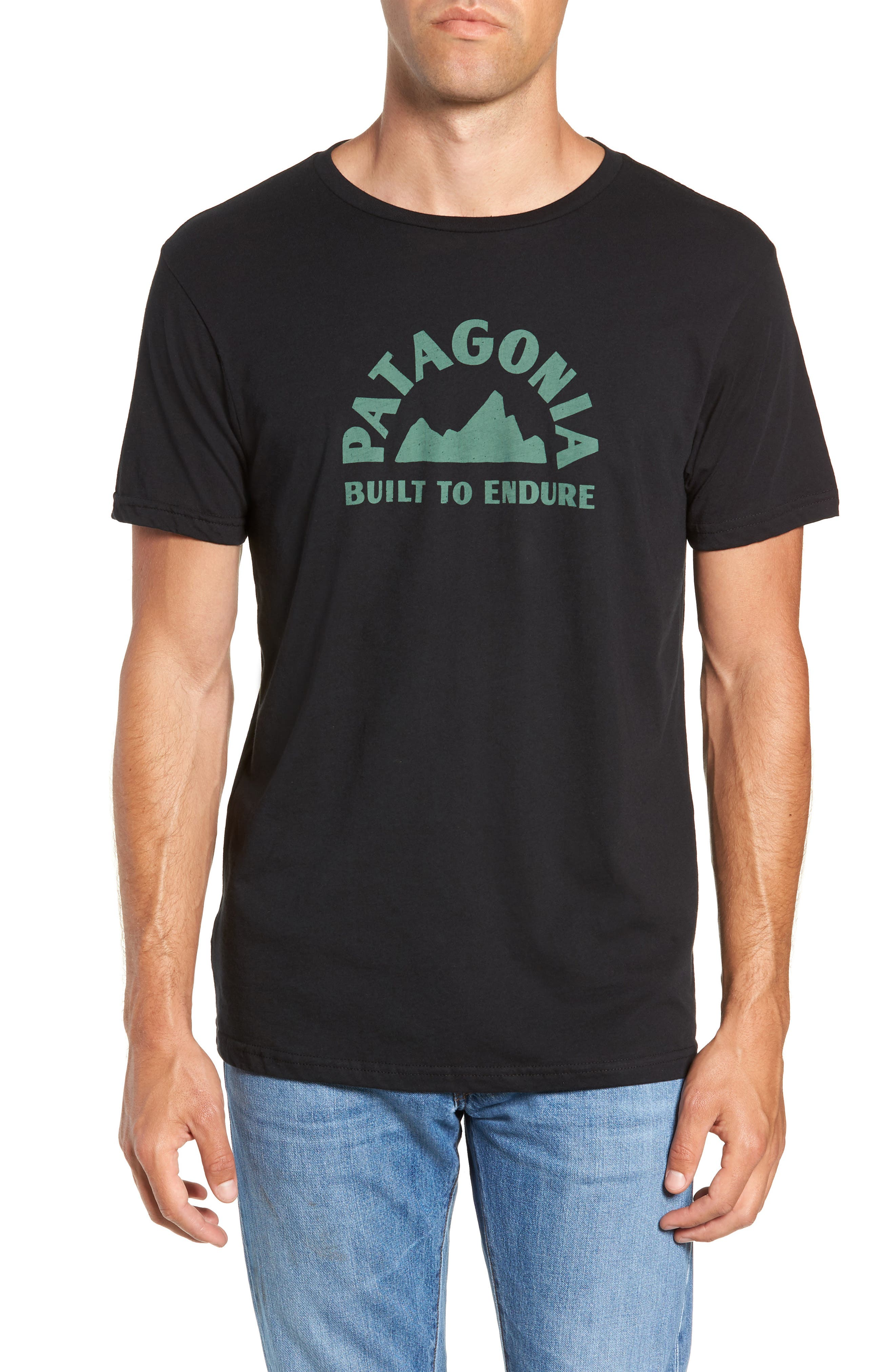 Geologers Organic Cotton T-Shirt,                             Main thumbnail 1, color,                             BLACK