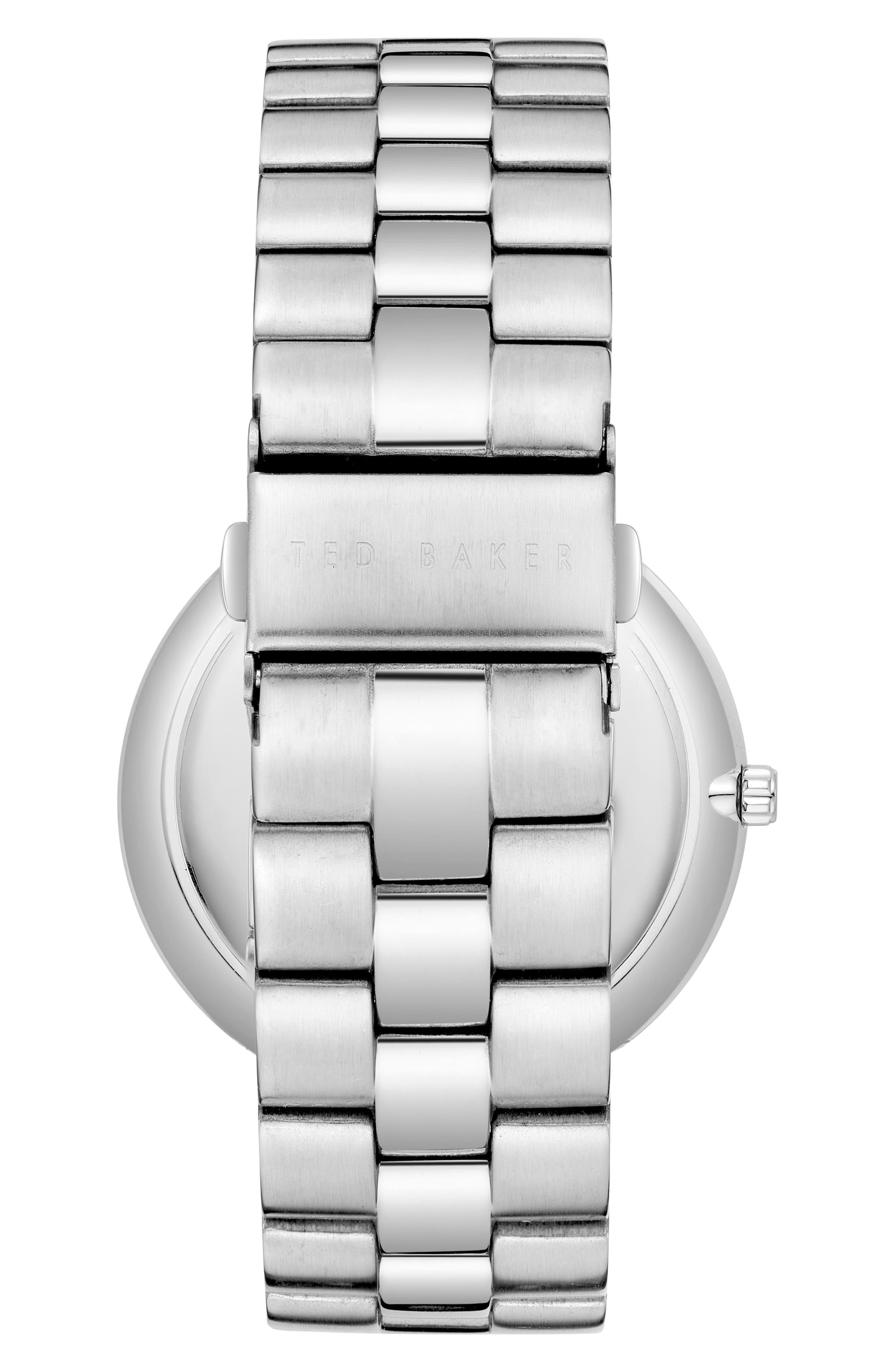 Brit Multifunction Bracelet Watch, 40mm,                             Alternate thumbnail 2, color,                             SILVER/ STAINLESS STEEL