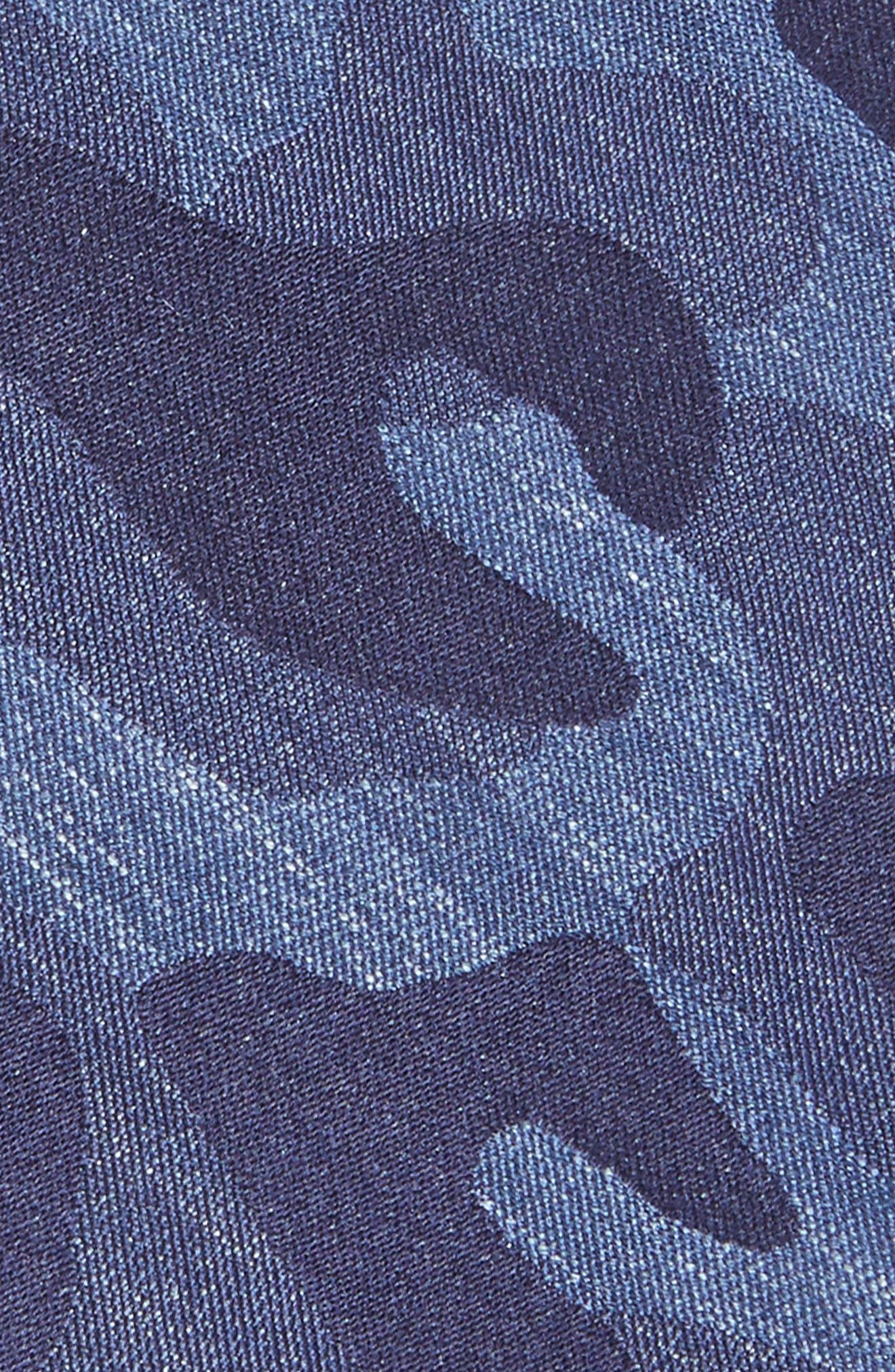 Camo Silk Tie,                             Alternate thumbnail 3, color,