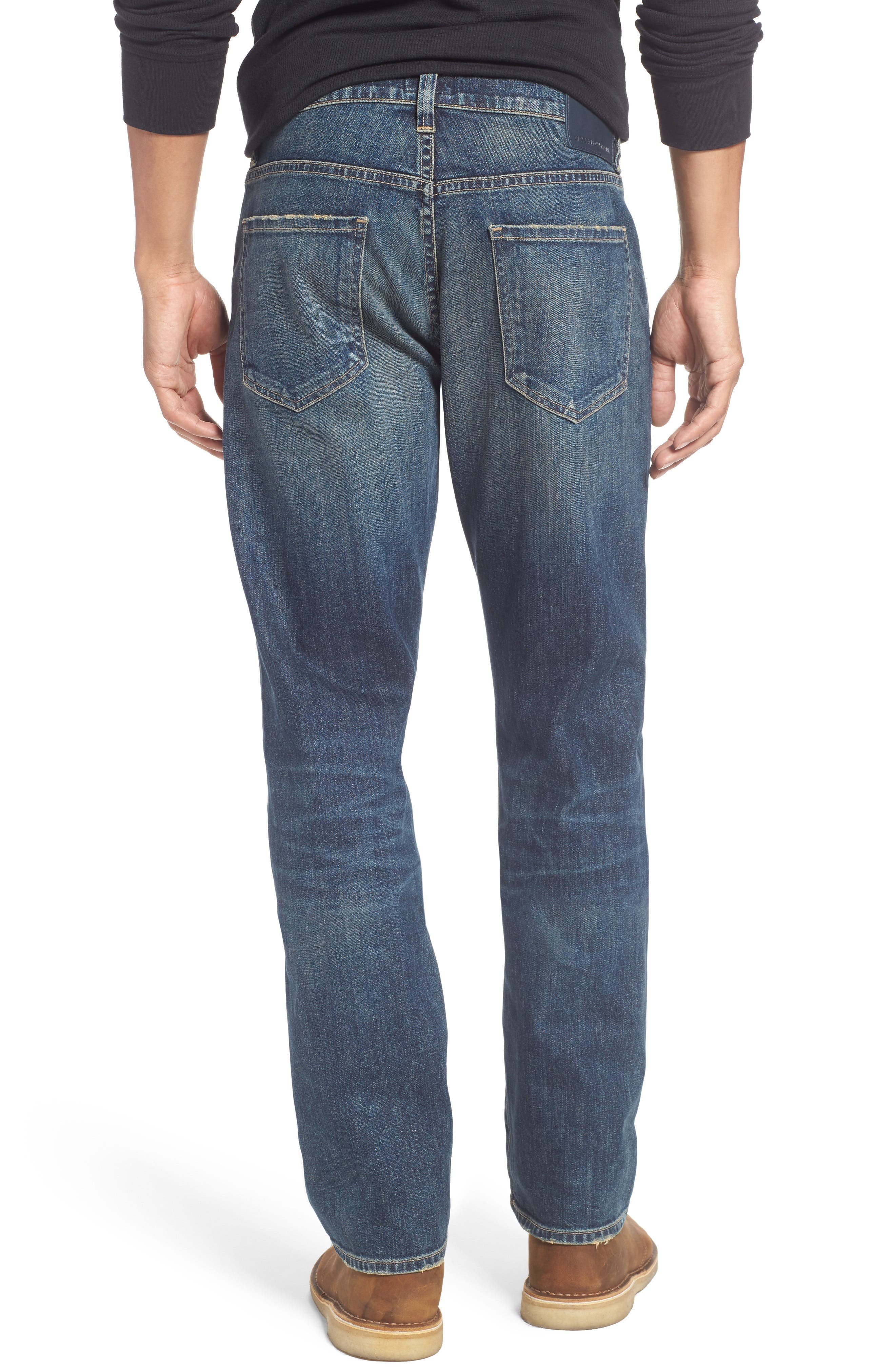 Gage Slim Straight Leg Jeans,                             Alternate thumbnail 2, color,                             DUNES