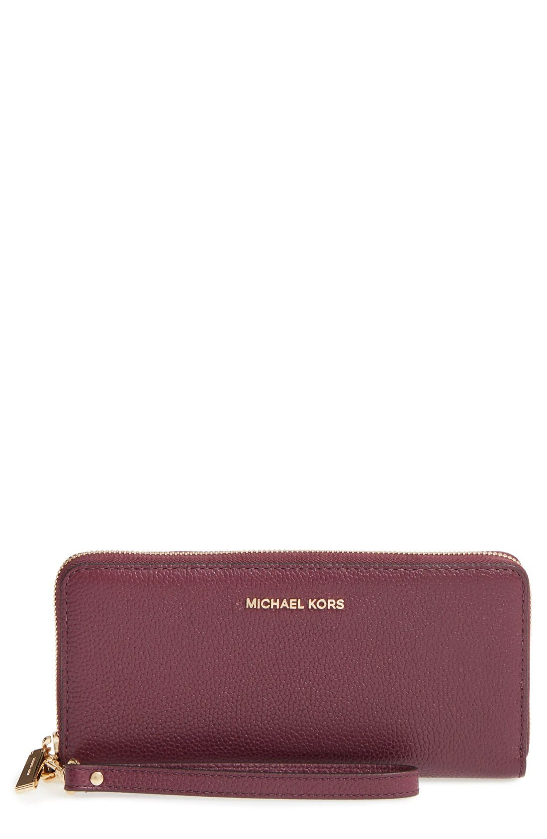 'Mercer' Leather Continental Wallet,                             Main thumbnail 7, color,