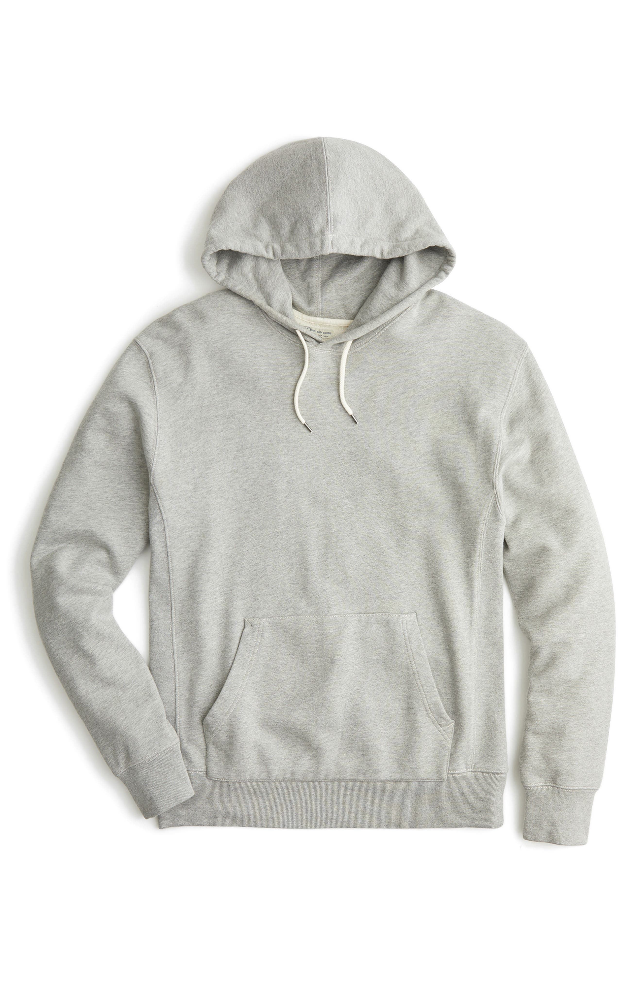 French Terry Pullover Hoodie,                             Alternate thumbnail 4, color,                             021