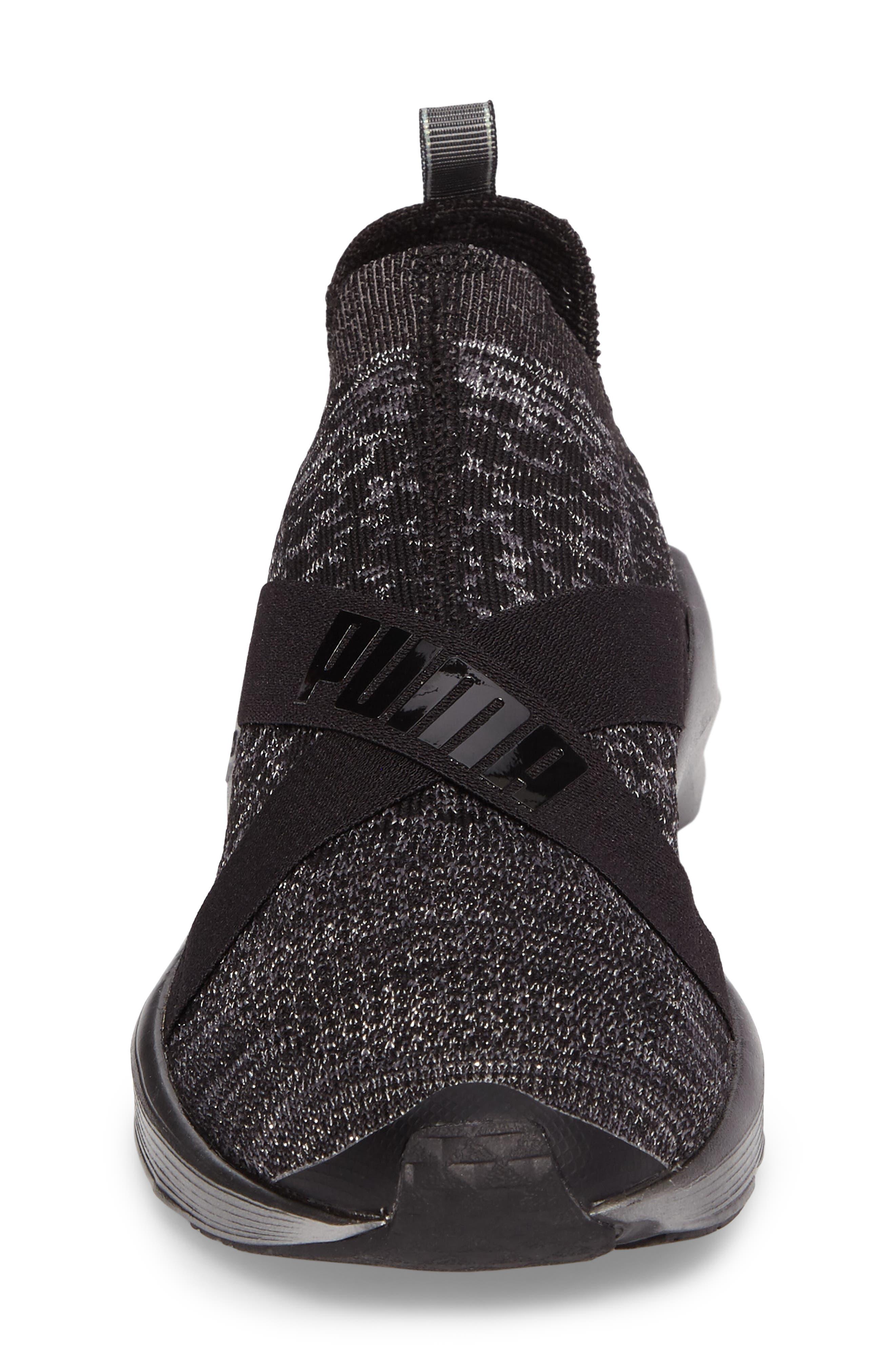 Fierce evoKnit Training Sneaker,                             Alternate thumbnail 4, color,                             003