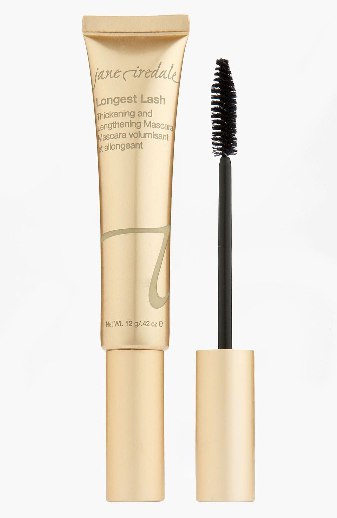 Longest Lash Thickening & Lengthening Mascara,                             Alternate thumbnail 3, color,                             BLACK ICE