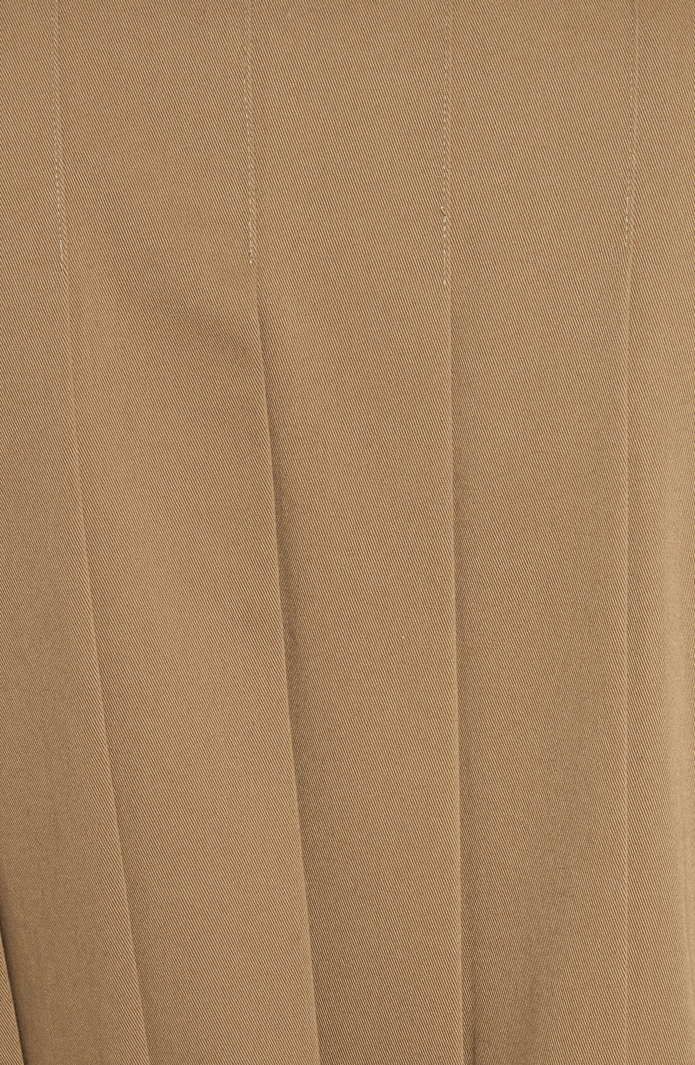 Pleat Back Trench Coat,                             Alternate thumbnail 6, color,