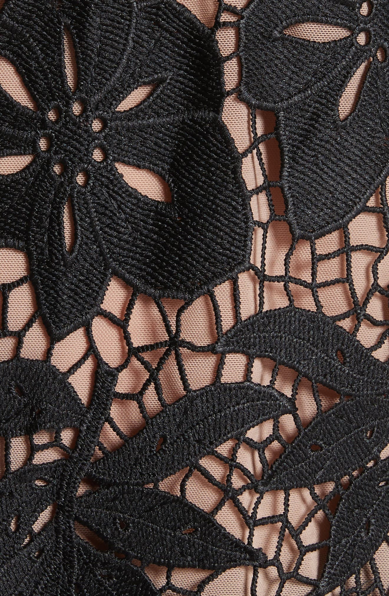 Mixed Media Lace Top,                             Alternate thumbnail 5, color,