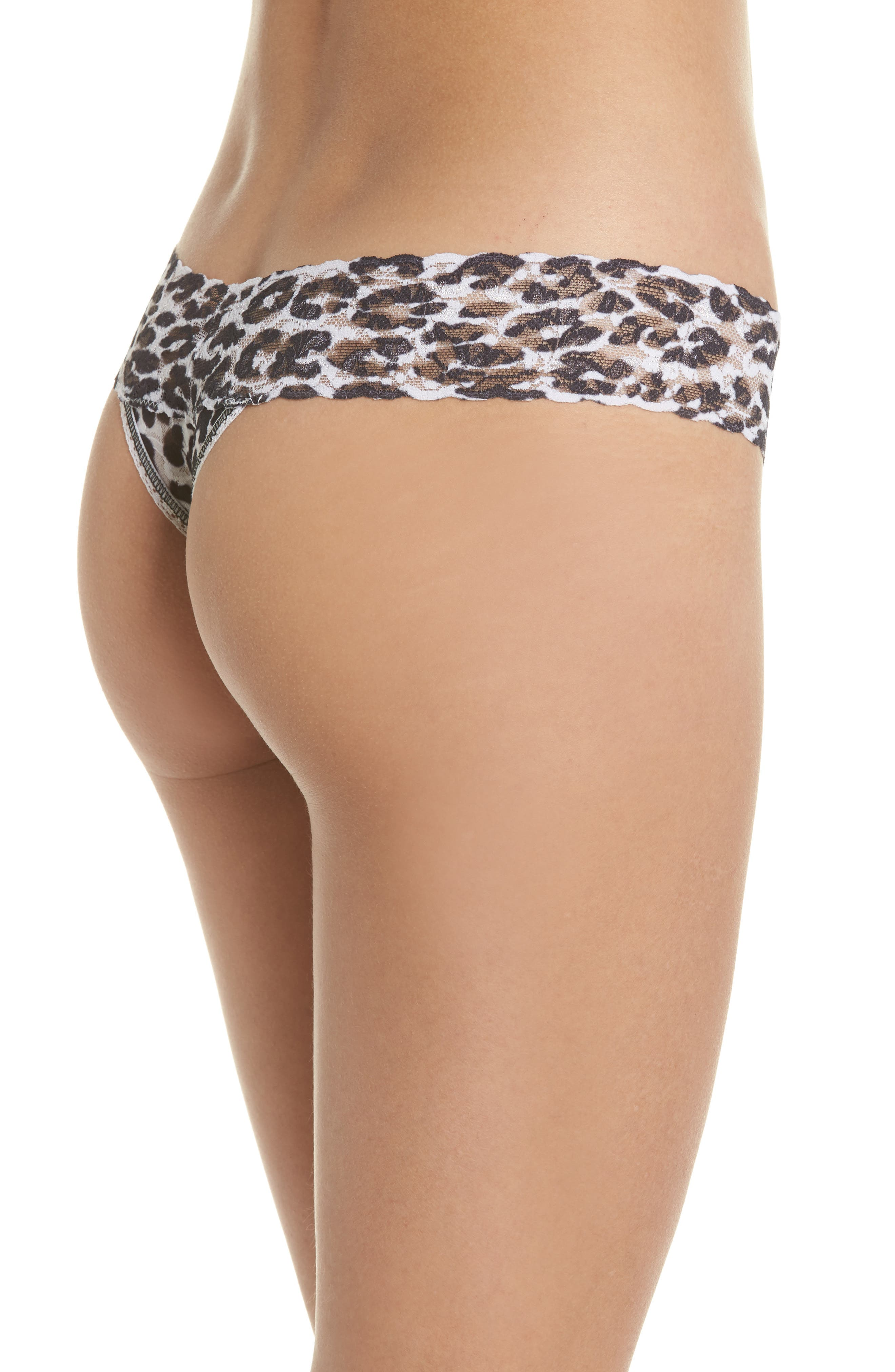 Print Low Rise Thong,                             Alternate thumbnail 21, color,