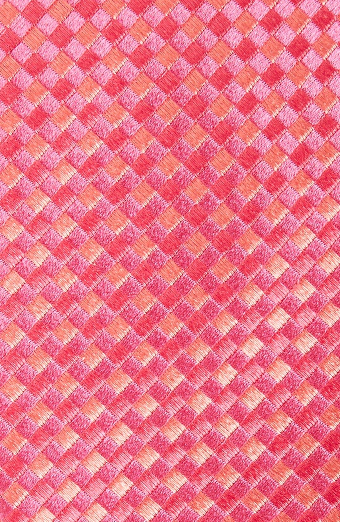 Check Silk Tie,                             Alternate thumbnail 23, color,