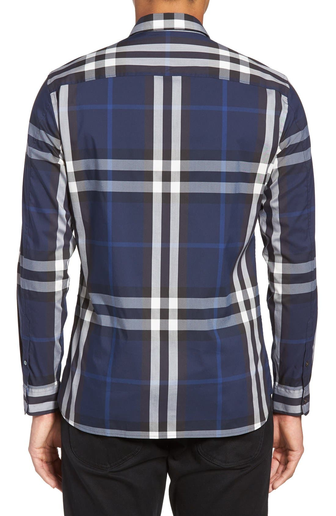 Nelson Check Sport Shirt,                             Alternate thumbnail 46, color,