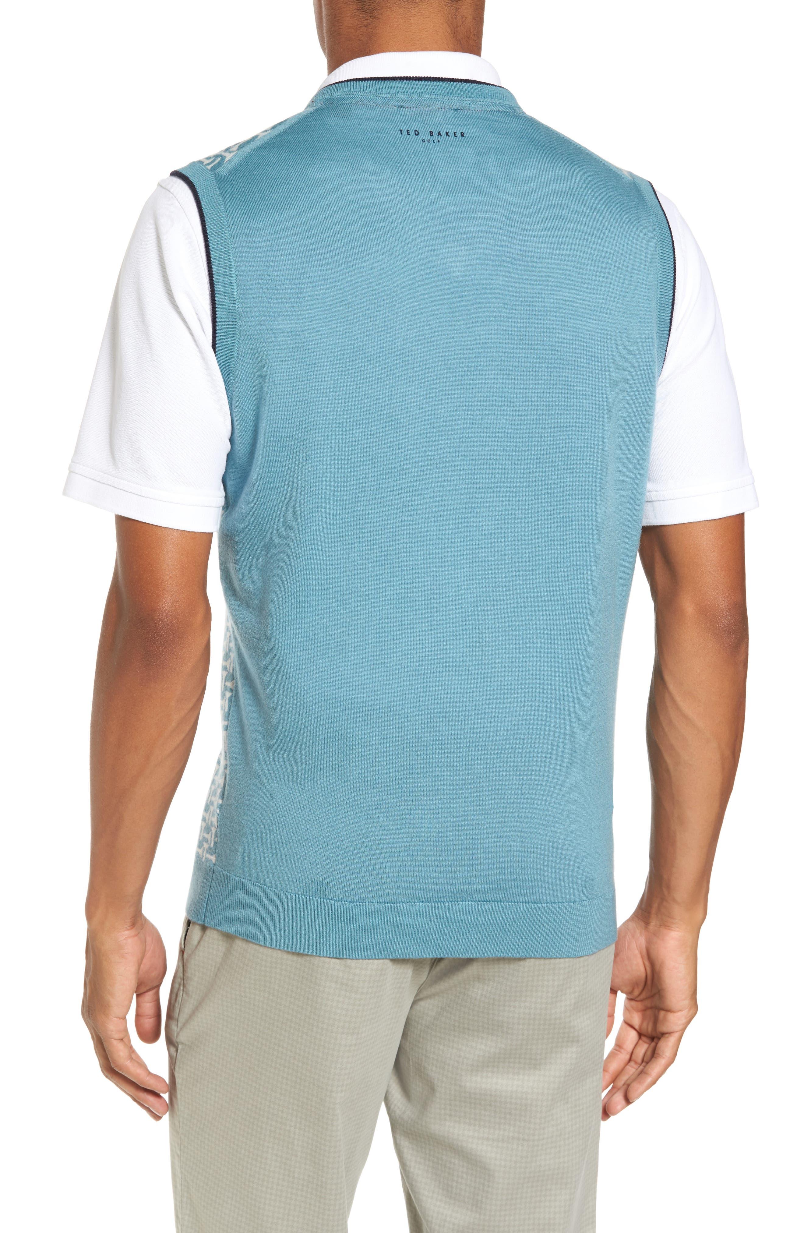 Tommas Golf Merino Sweater Vest,                             Alternate thumbnail 2, color,                             331