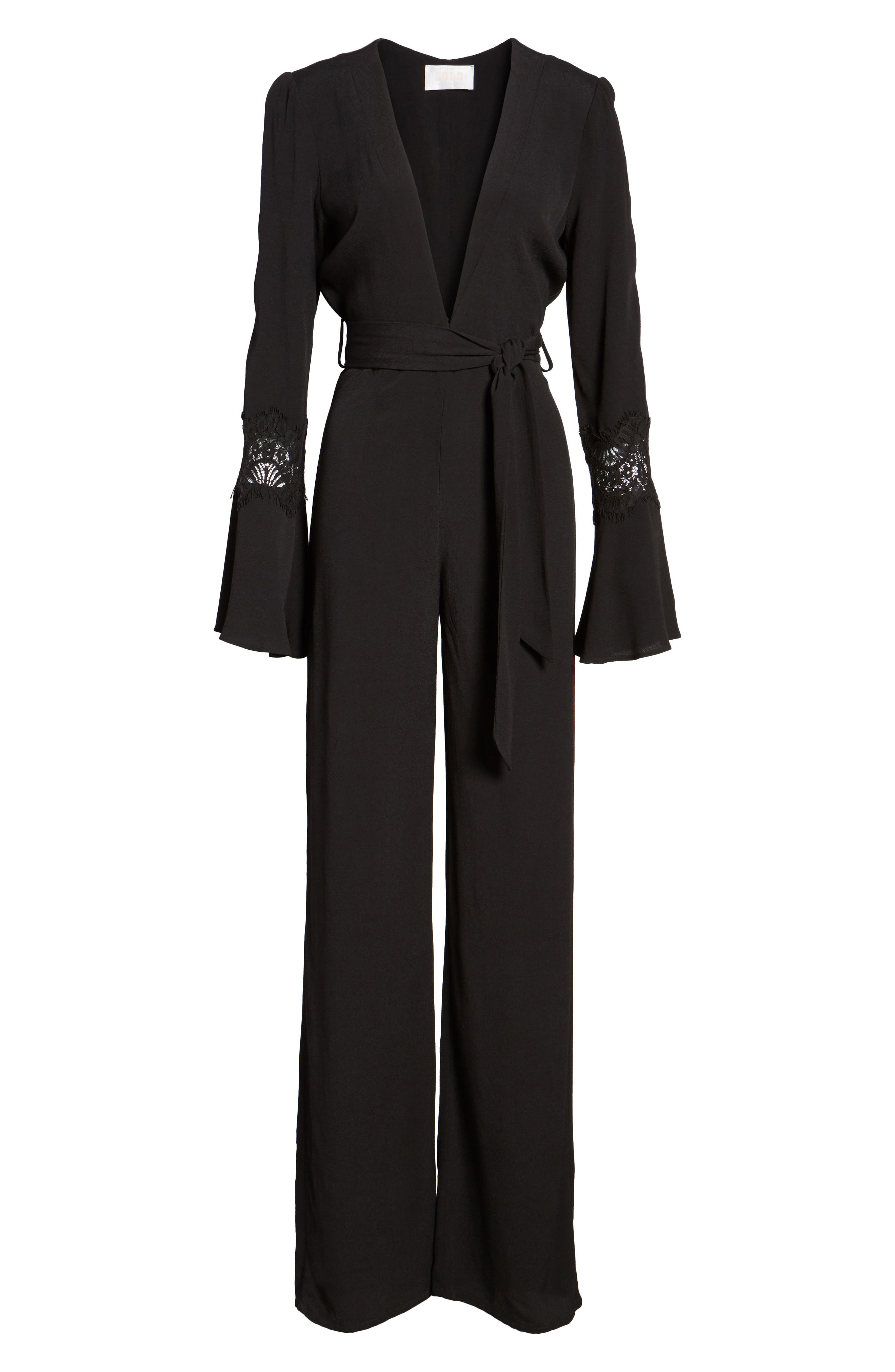 Stevie Jumpsuit,                             Alternate thumbnail 6, color,                             001