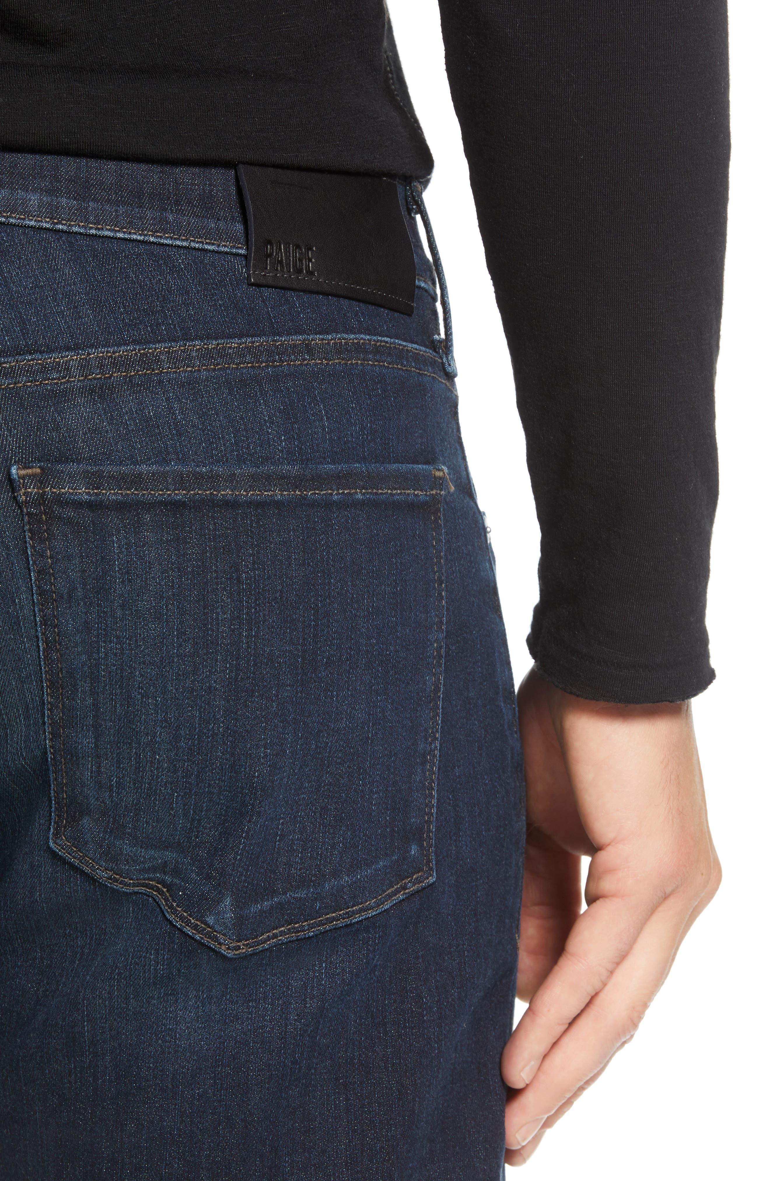 Transcend - Normandie Straight Leg Jeans,                             Alternate thumbnail 4, color,                             KENAN