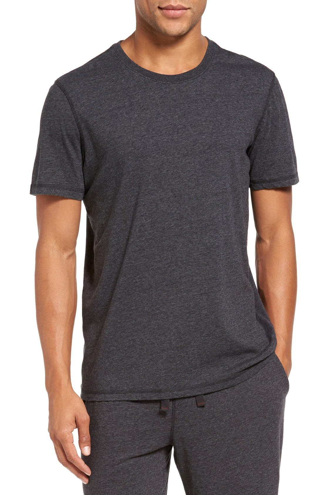 Recycled Cotton Blend T-Shirt,                             Main thumbnail 1, color,                             001
