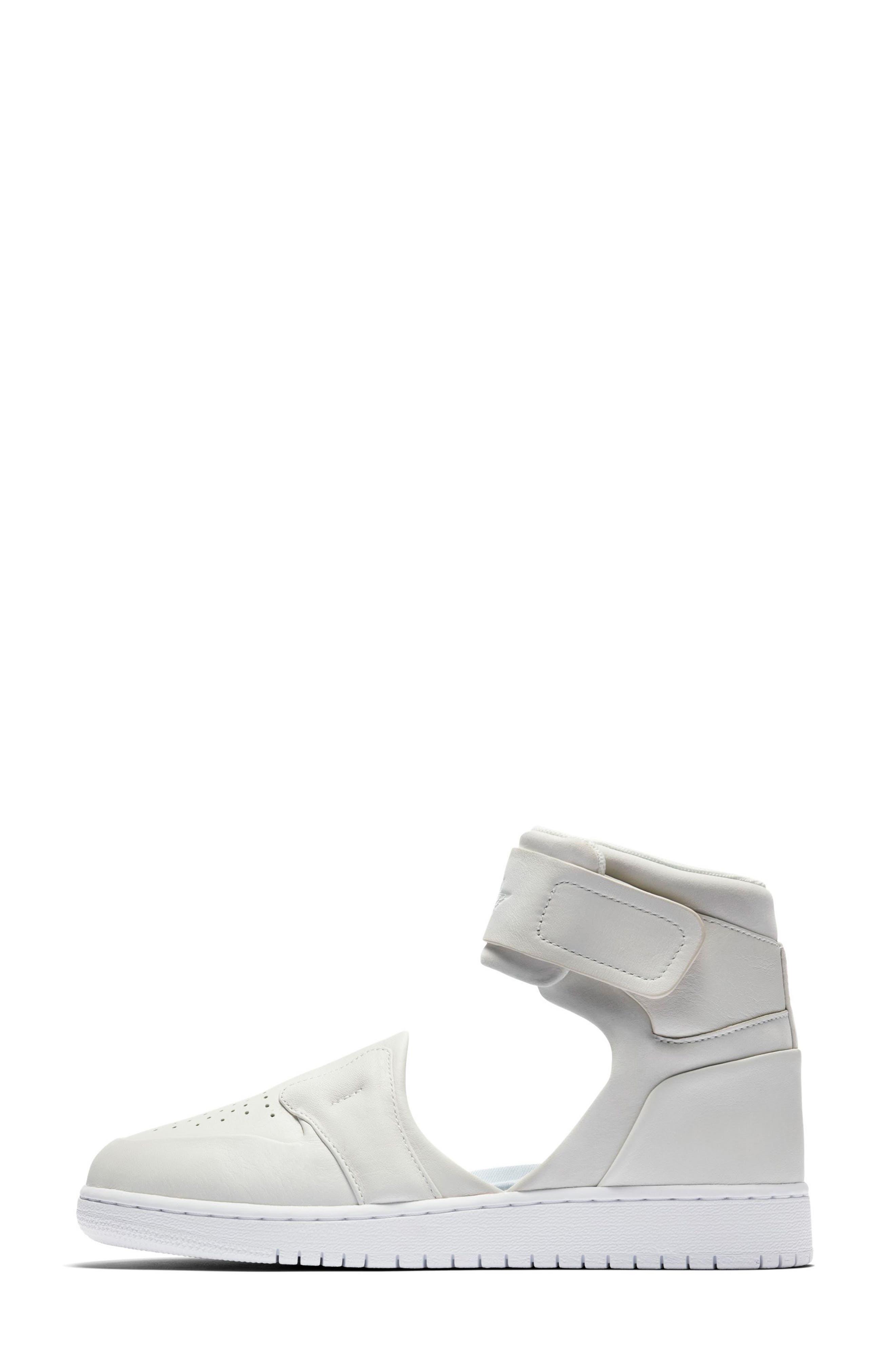 Air Jordan 1 Lover XX Ankle Strap Sneaker,                             Alternate thumbnail 3, color,                             100