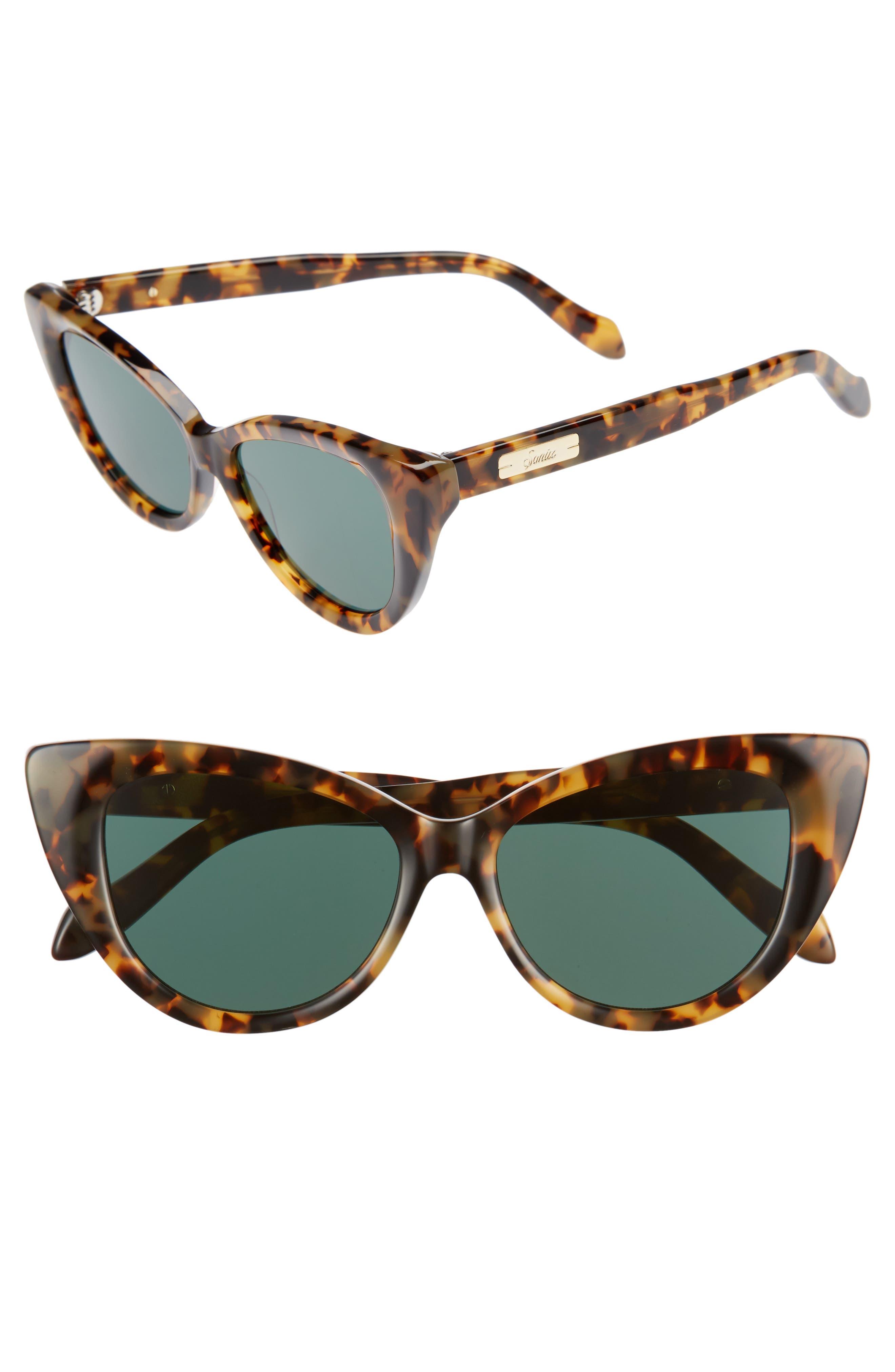 Kyoto 51mm Cat Eye Sunglasses,                             Main thumbnail 3, color,