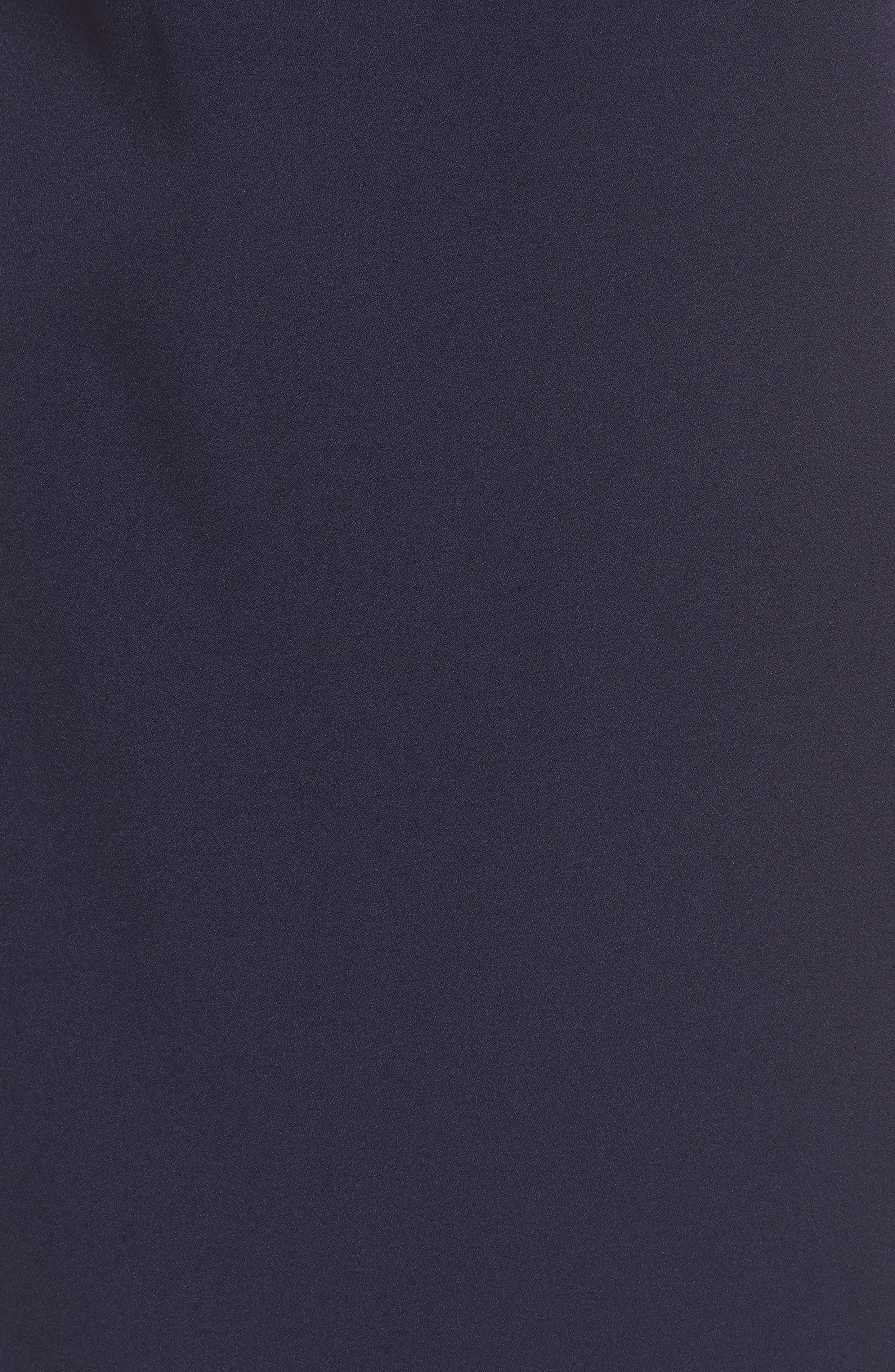 Puff Sleeve Shift Dress,                             Alternate thumbnail 6, color,                             410