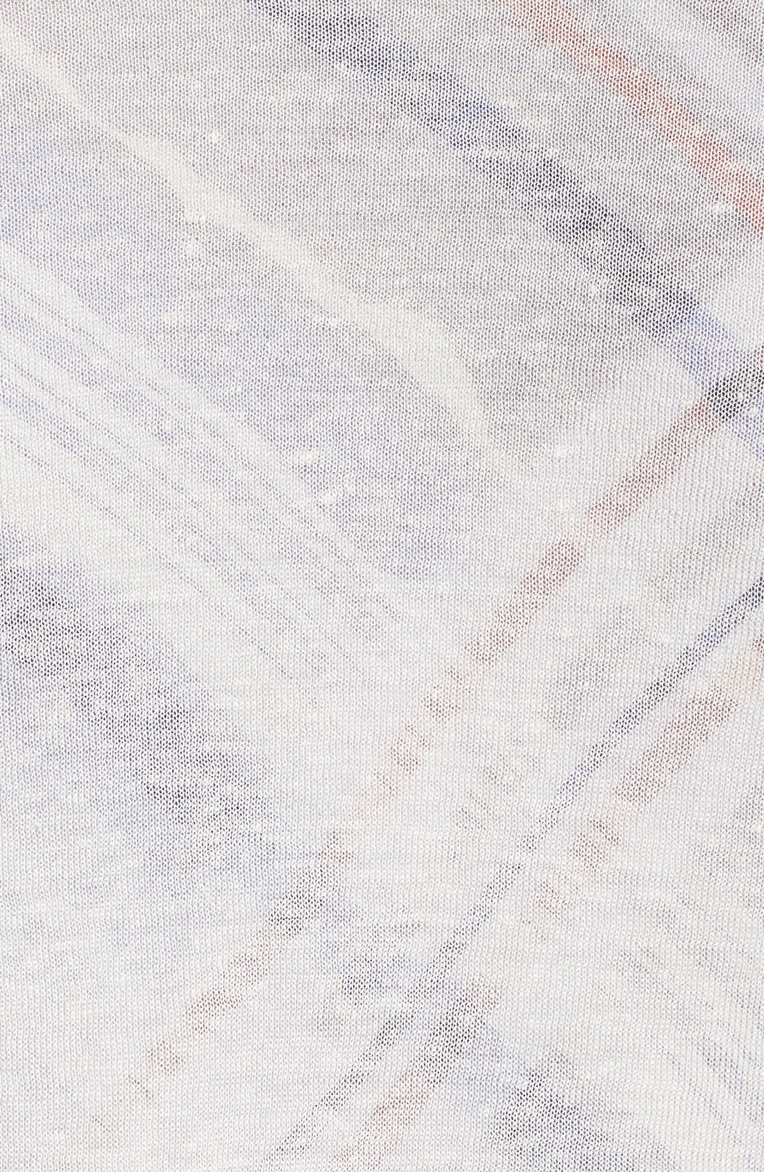 Four-Way Convertible Cardigan,                             Alternate thumbnail 5, color,                             SMOKE