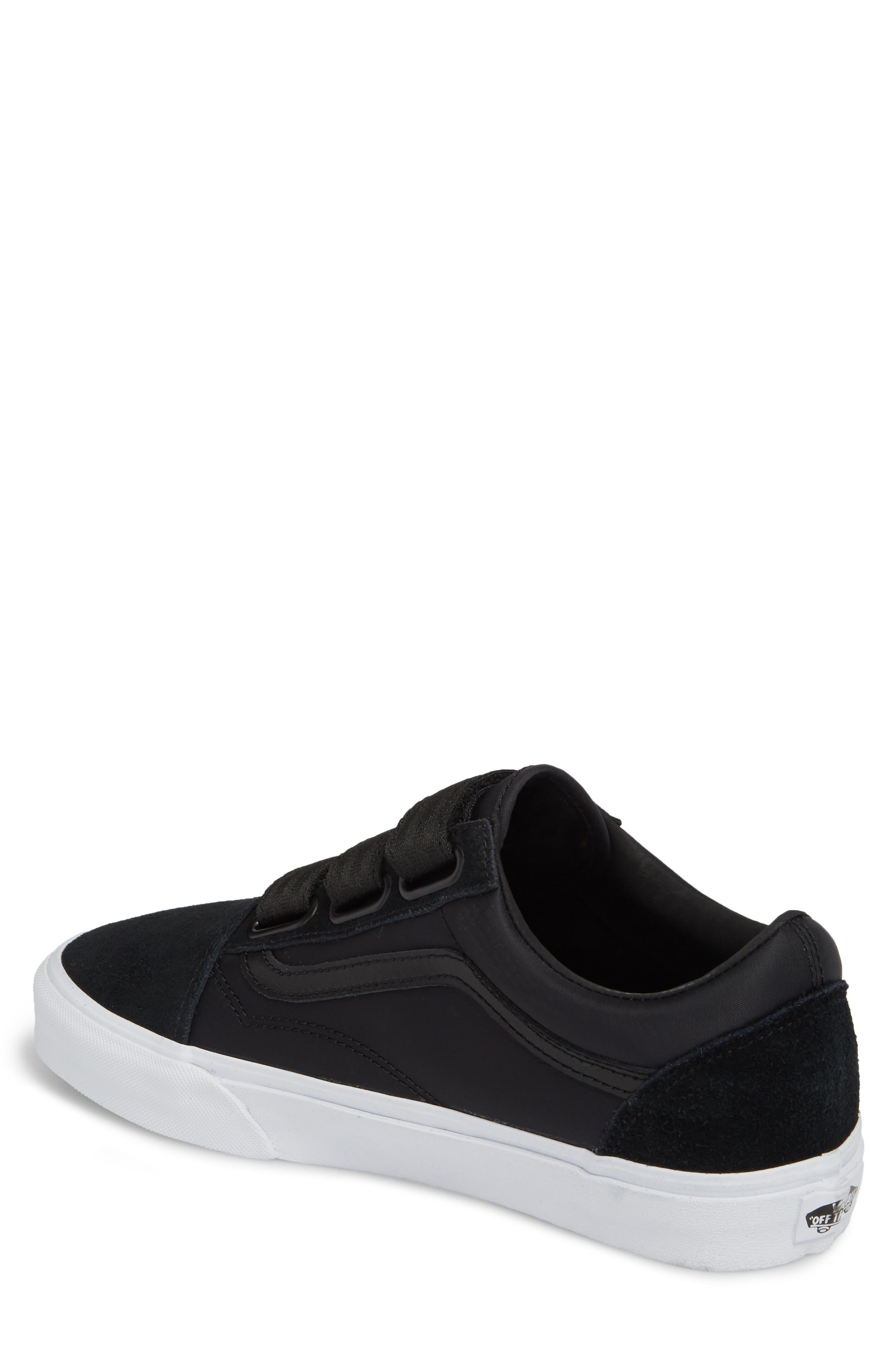 Old School V-Sneaker,                             Alternate thumbnail 2, color,                             001