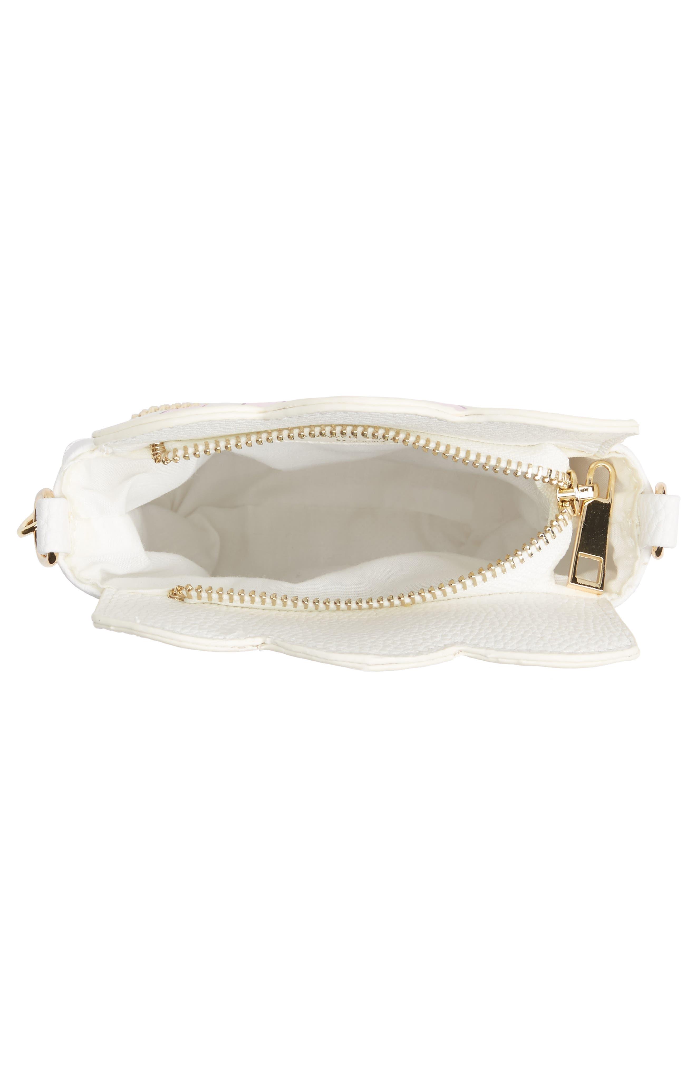 Fresh Popcorn Faux Leather Shoulder Bag,                             Alternate thumbnail 3, color,                             100