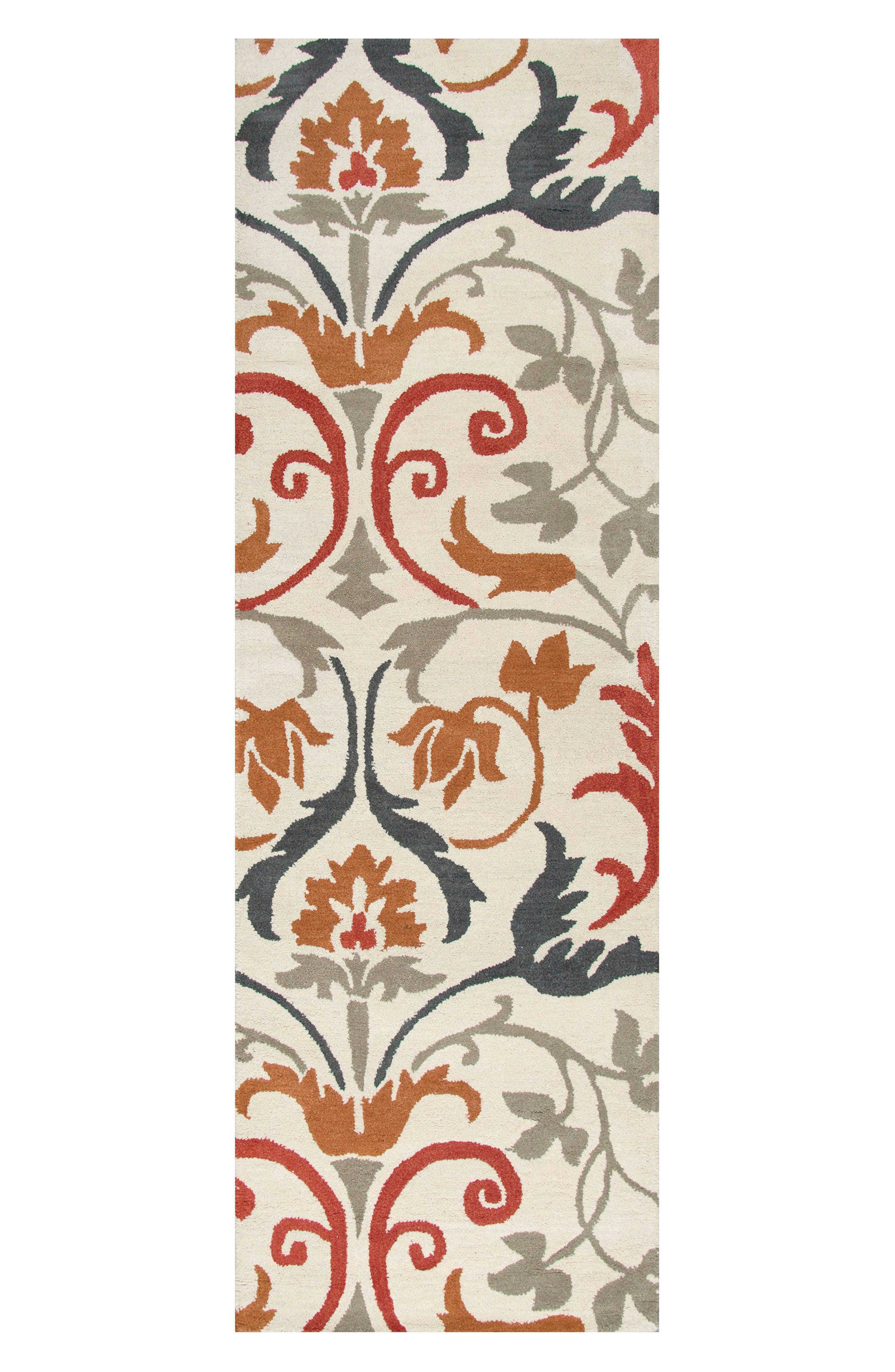 Zoe Hand Tufted Wool Area Rug,                             Alternate thumbnail 3, color,                             900