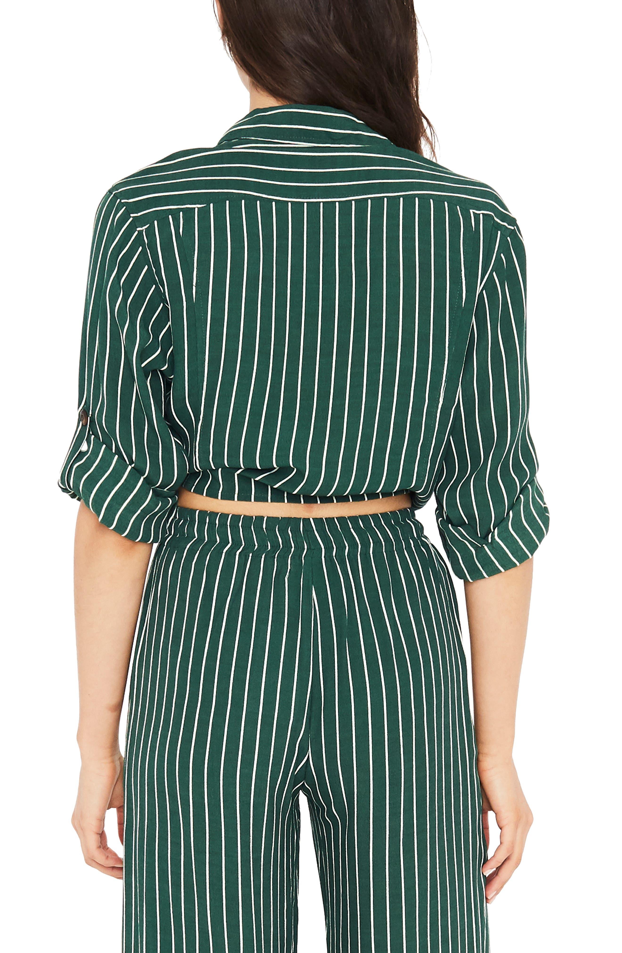 Beau Rivage Stripe Tie Shirt,                             Alternate thumbnail 2, color,                             300