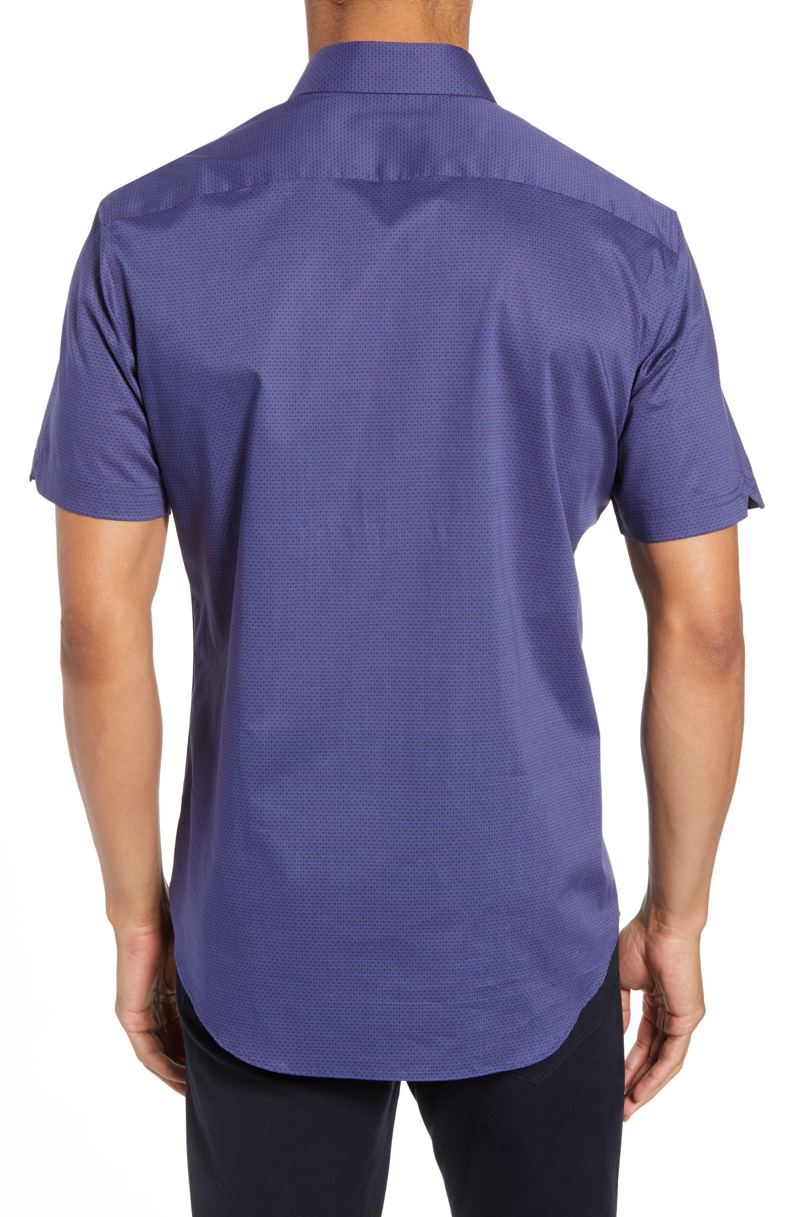 Avellan Regular Fit Sport Shirt,                             Alternate thumbnail 2, color,                             BLUE